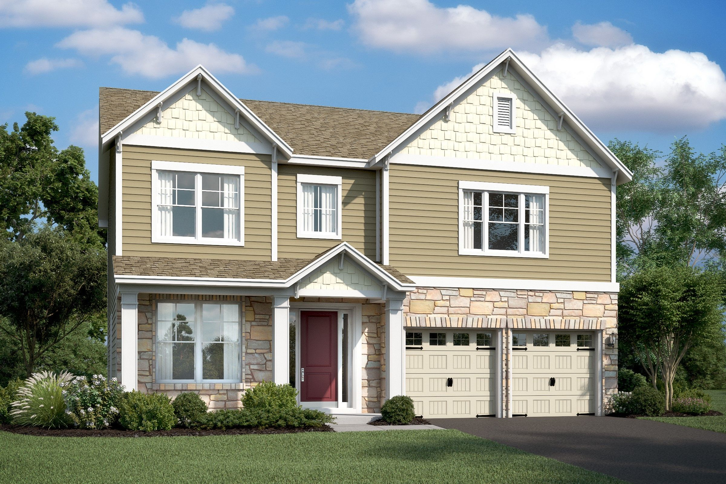 Single Family for Active at Eden Terrace - Wedgewood 110 Forest Avenue Catonsville, Maryland 21228 United States