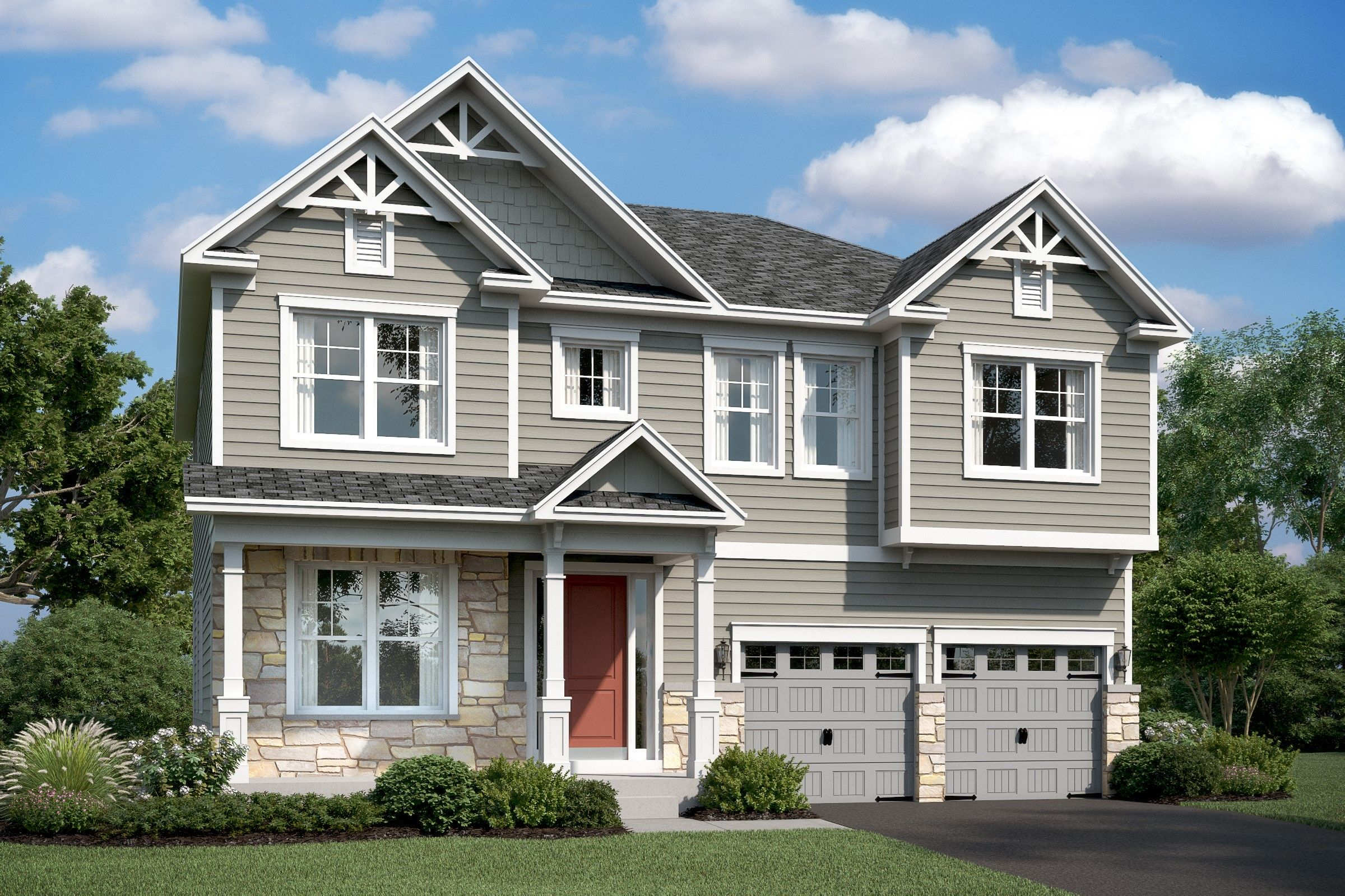 Single Family for Active at Eden Terrace - Tomasen 110 Forest Avenue Catonsville, Maryland 21228 United States