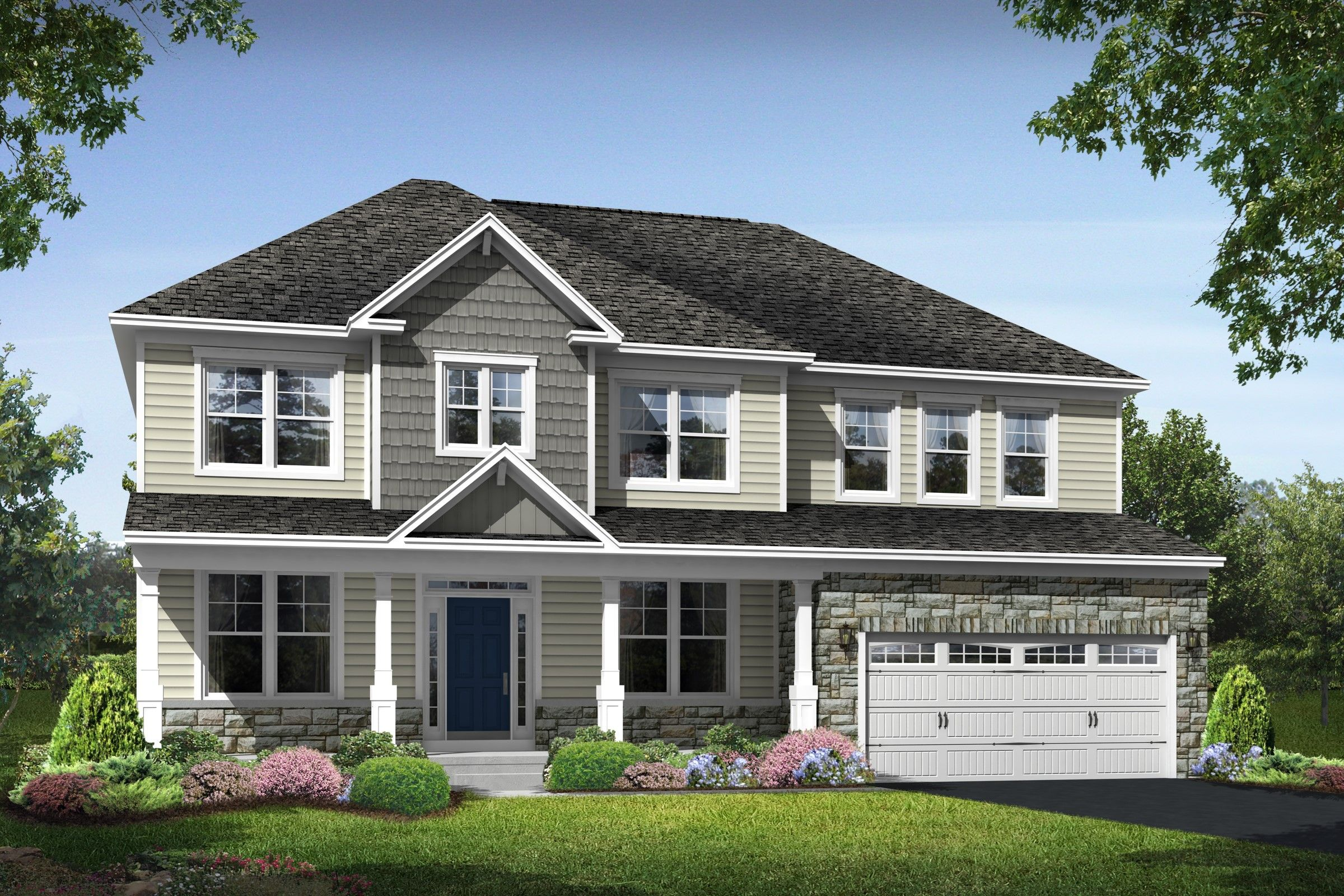 Single Family for Active at Magness Farms - Dover 1304 Merlot Drive Bel Air, Maryland 21015 United States