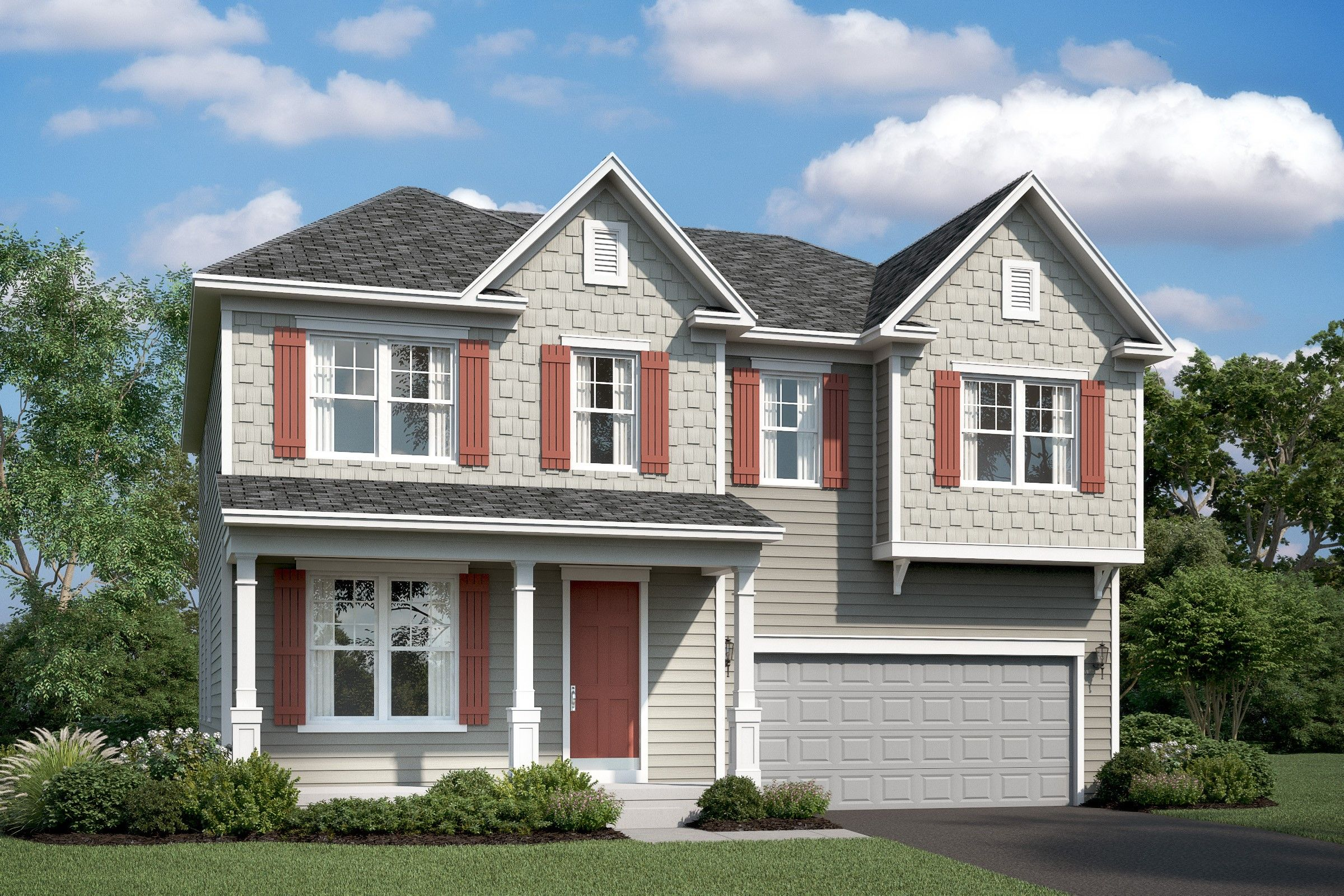 Single Family for Active at Stone Mill - Tomasen 7904 Meridian Drive Pasadena, Maryland 21122 United States