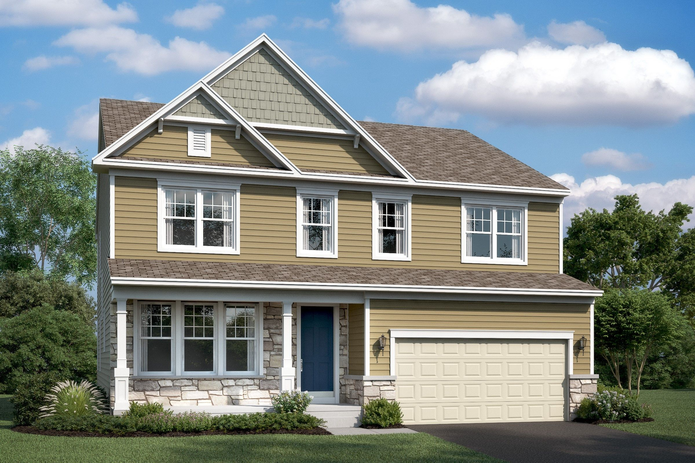 Single Family for Active at Stone Mill - Lancaster 7904 Meridian Drive Pasadena, Maryland 21122 United States