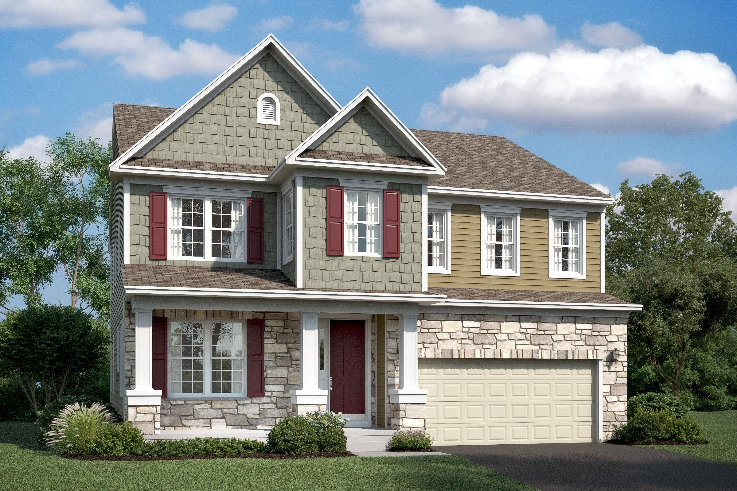 Single Family for Active at Stone Mill - Lexington 7904 Meridian Drive Pasadena, Maryland 21122 United States