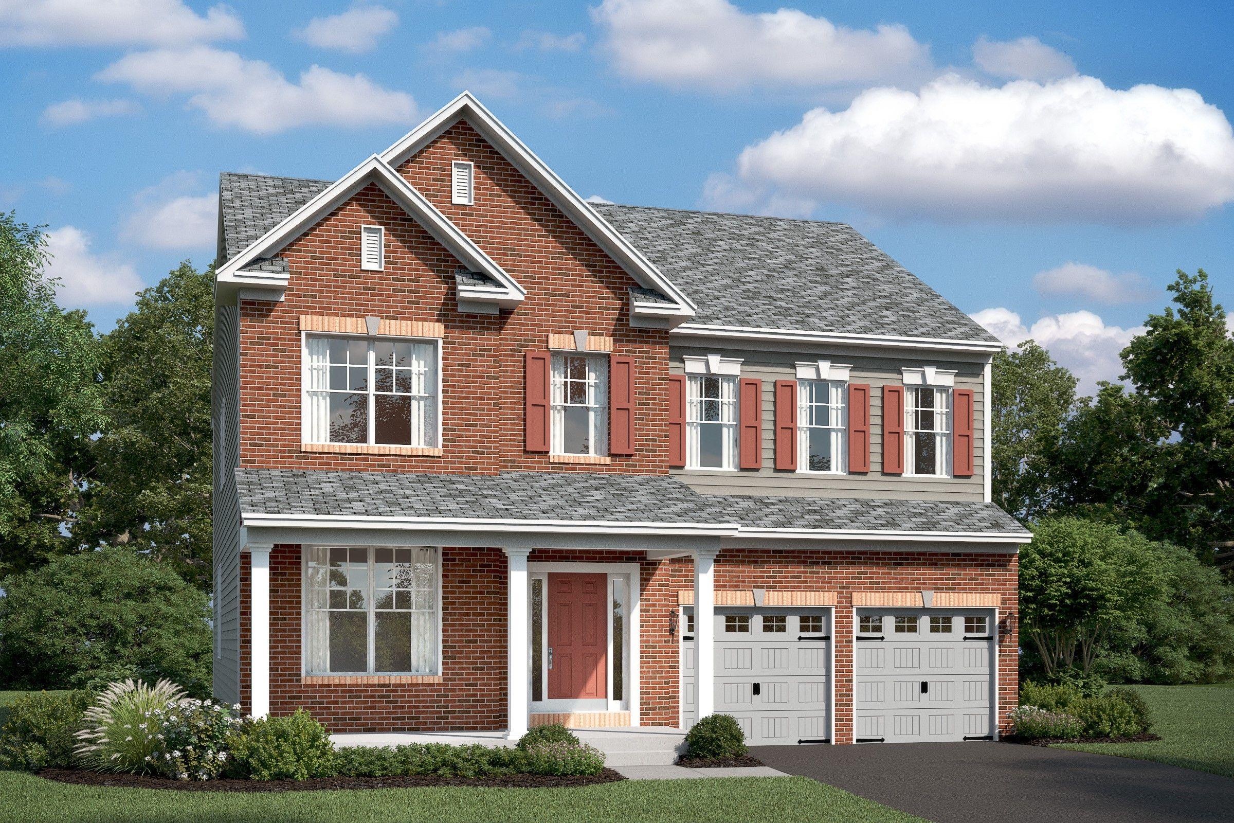 Single Family for Active at Stone Mill - Callahan Ii 7904 Meridian Drive Pasadena, Maryland 21122 United States