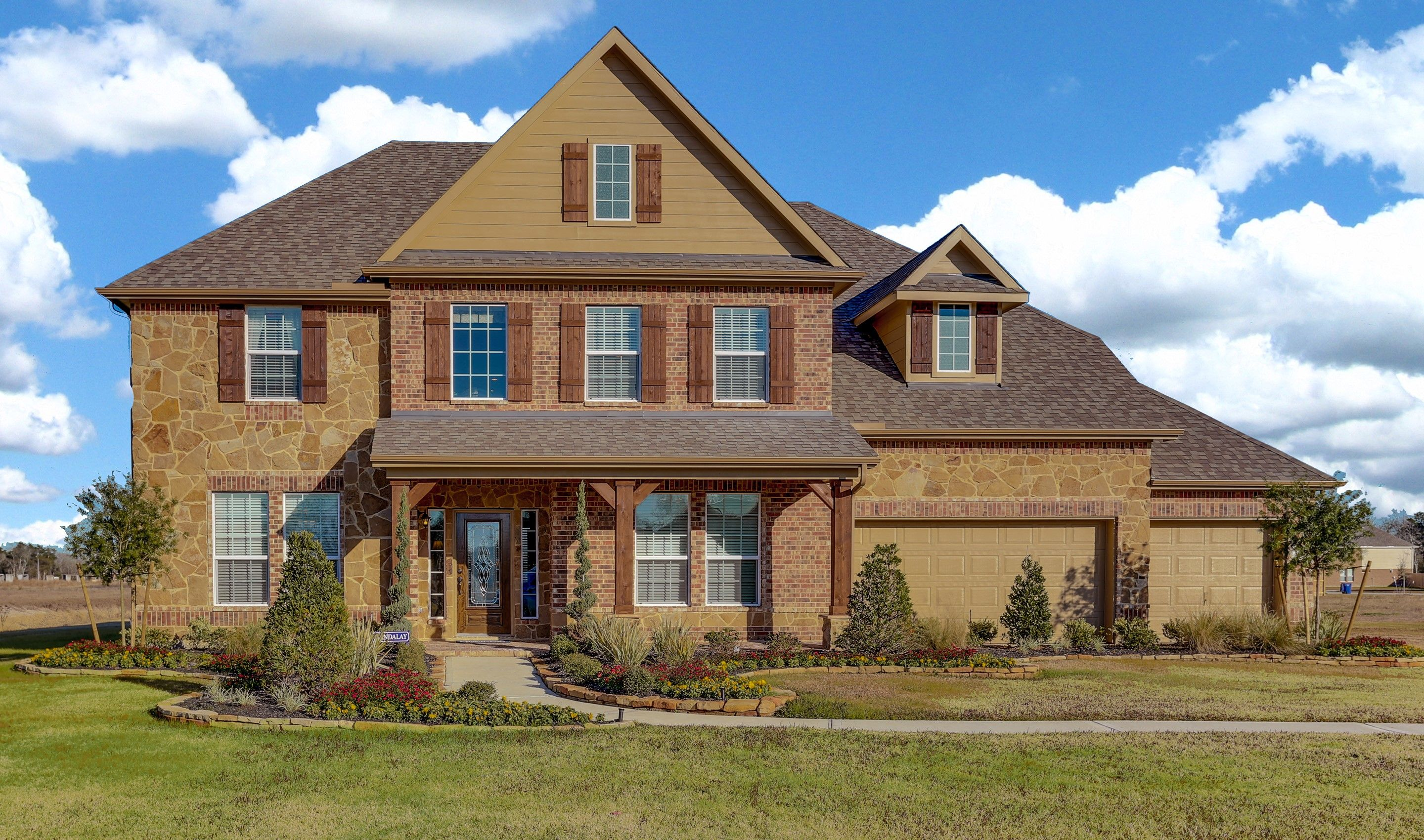 Single Family for Sale at Briarwood 6303 Sellers Circle, Homesite 27 Baytown, Texas 77523 United States