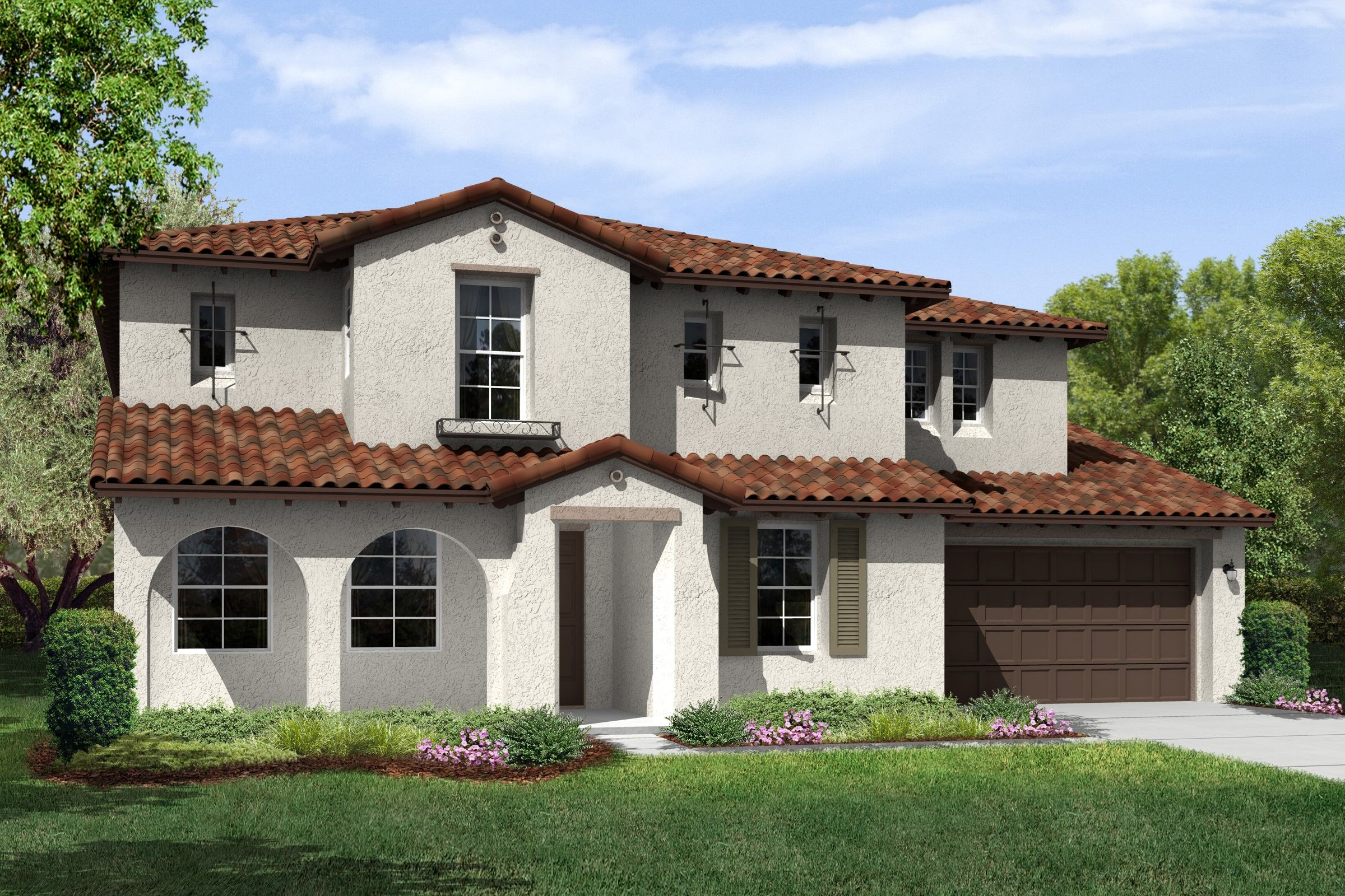 Single Family for Sale at The Executive Collection At Meridian Hills - Ivory 6859 Ridgemark Drive Moorpark, California 93021 United States