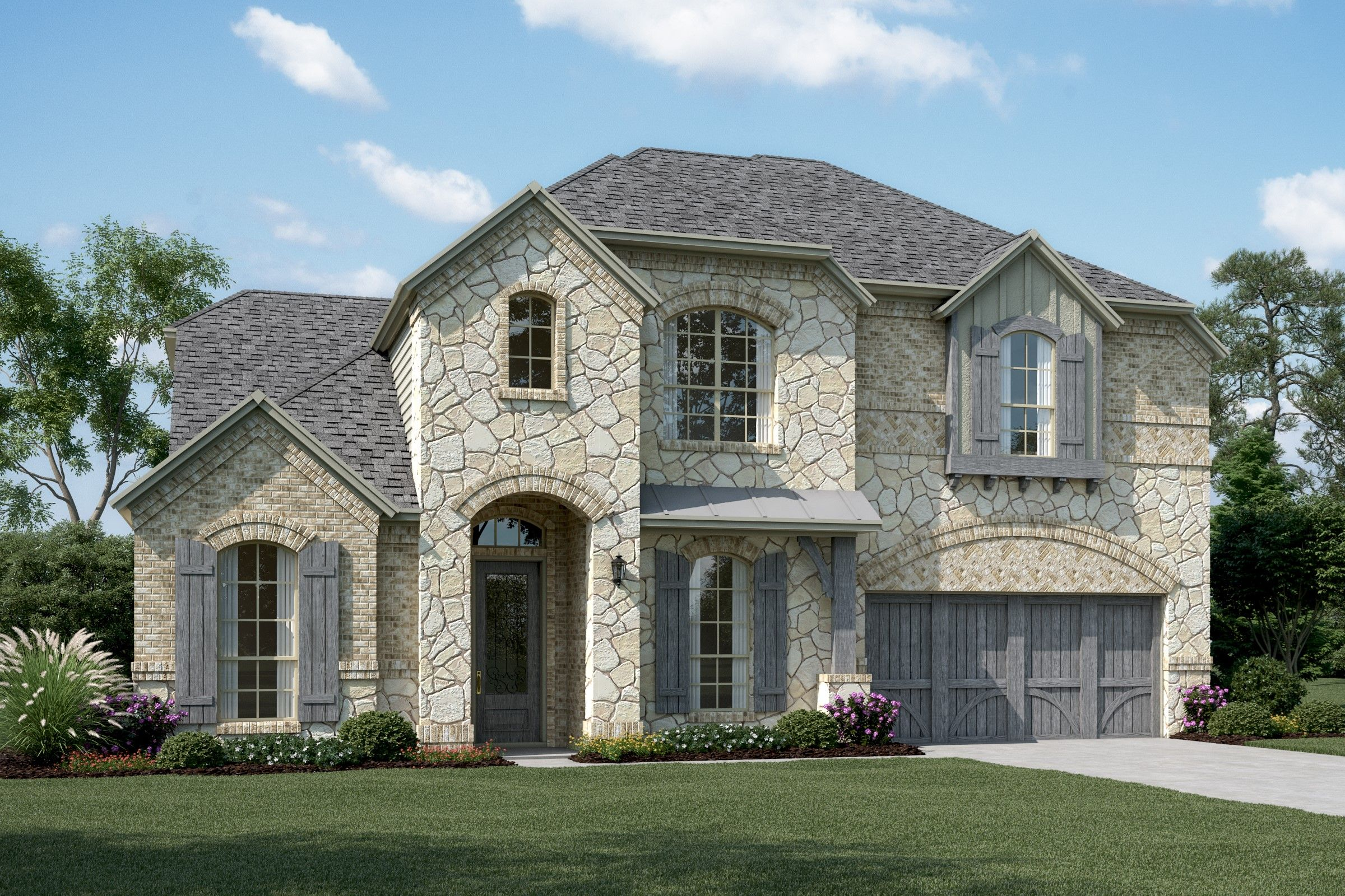 Single Family for Active at Hampshire Iii - Villas 704 Rubicon Drive Murphy, Texas 75094 United States