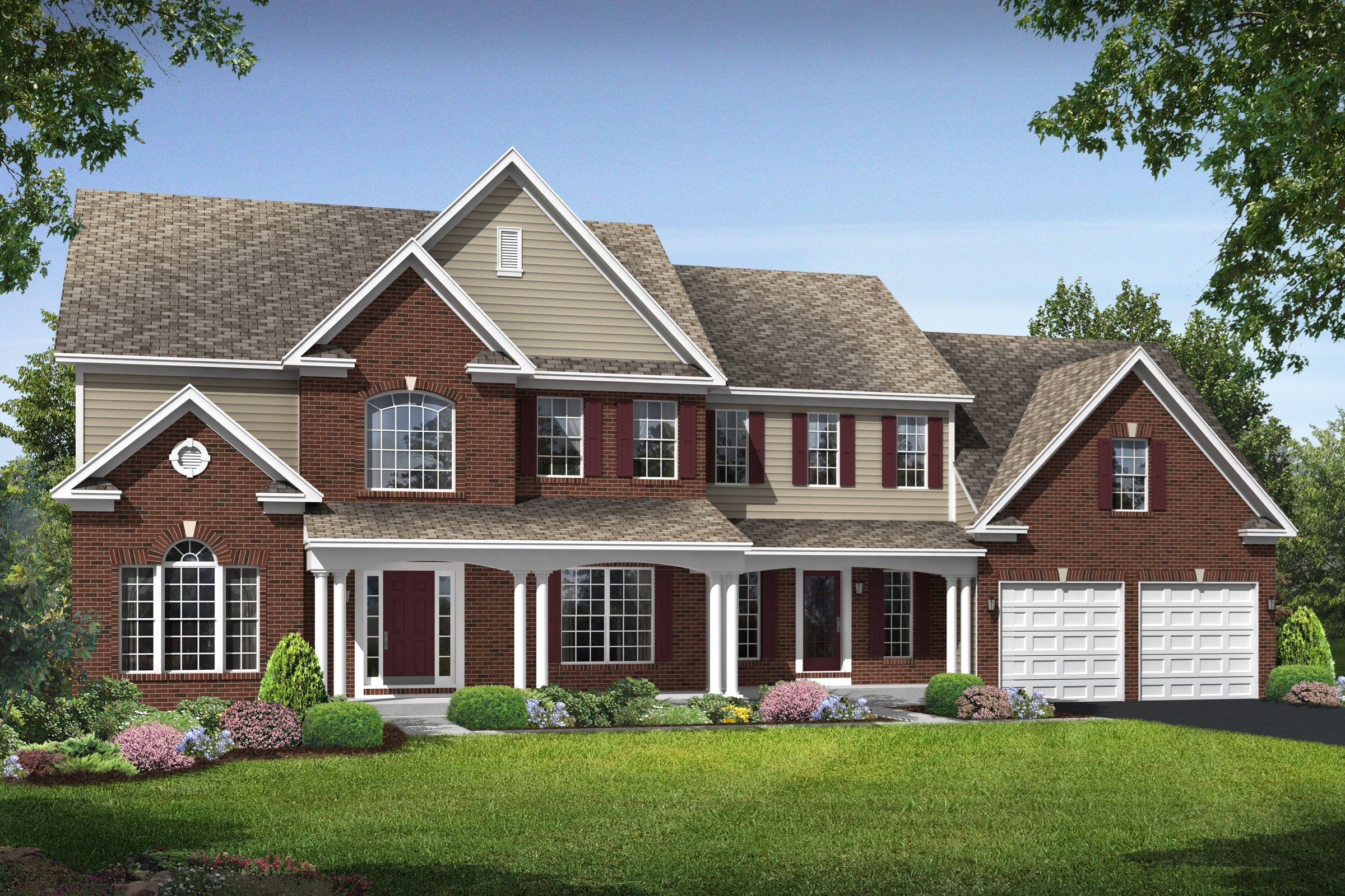 Single Family for Active at The Reserves At Leeland Station - Wisconsin 120 Perth Drive Fredericksburg, Virginia 22405 United States