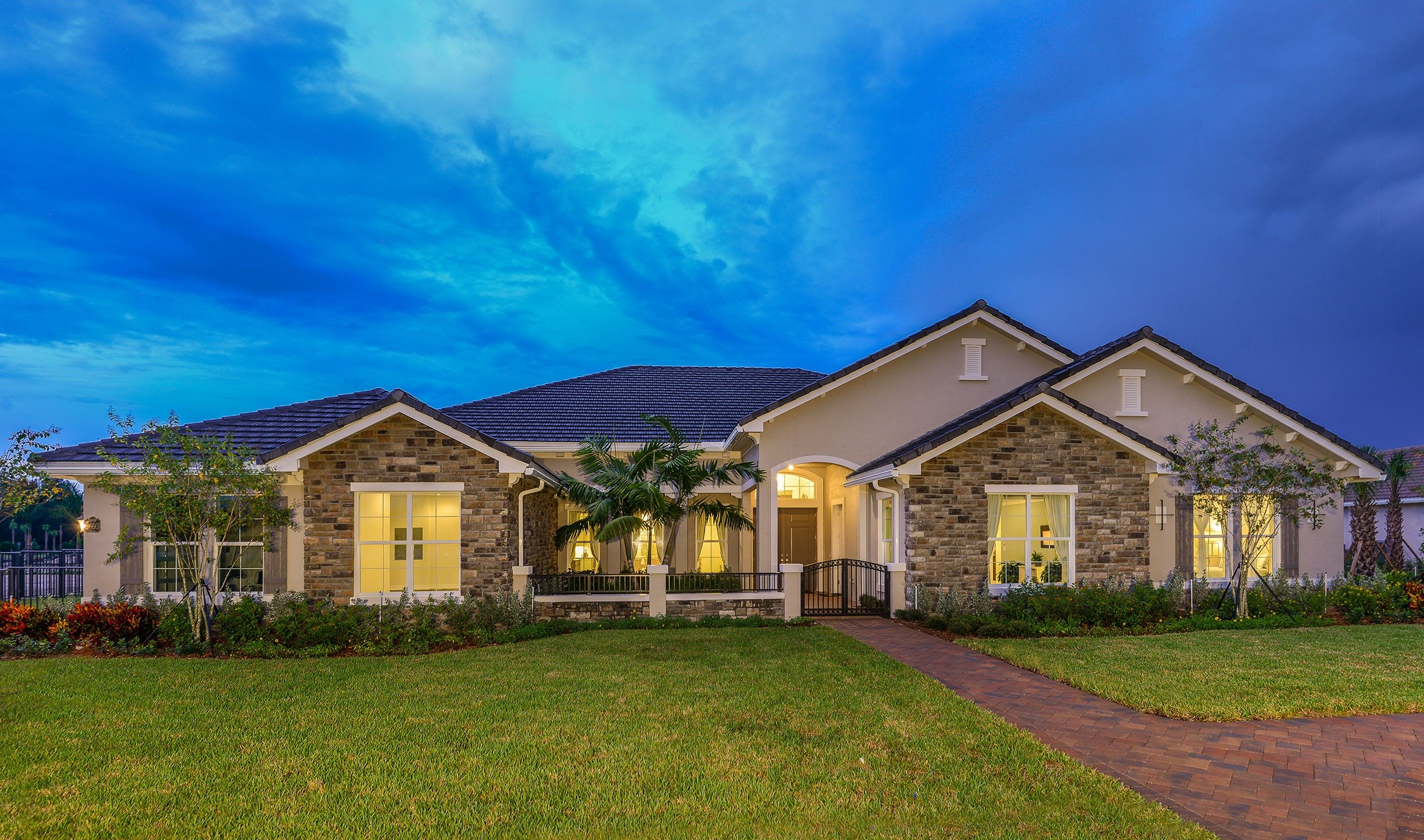Single Family for Active at Hawthorne 5125 East Sterling Ranch Circle, Homesite 59 Davie, Florida 33314 United States