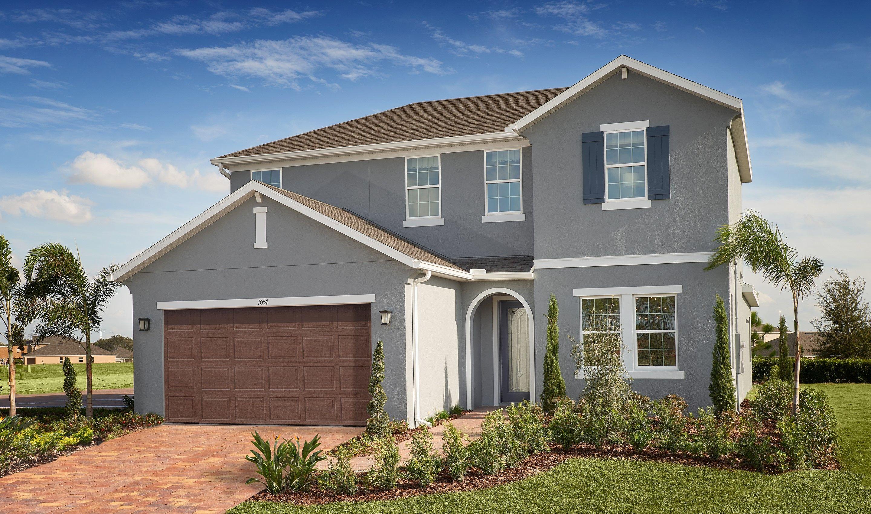 Single Family for Active at Alvarez 1057 Grand Hilltop Drive, Homesite 60 Apopka, Florida 32703 United States