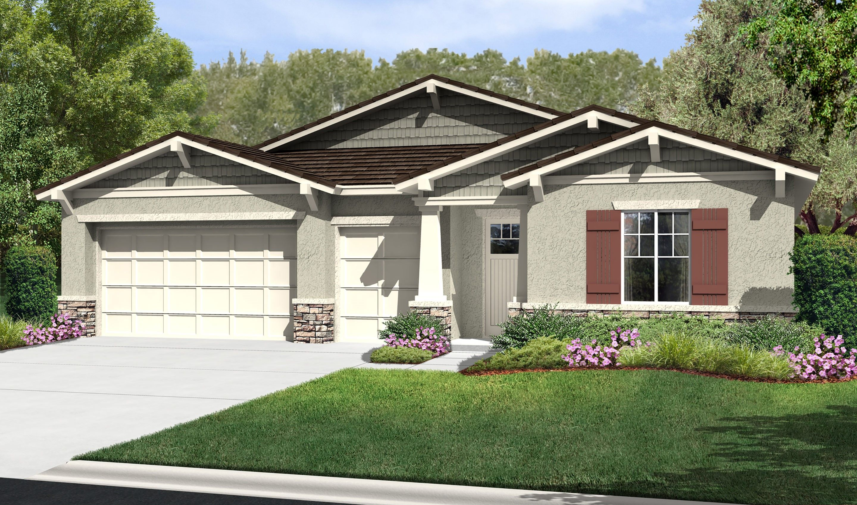Single Family for Sale at Rosette 1608 Sams Canyon, Homesite 2 Beaumont, California 92223 United States