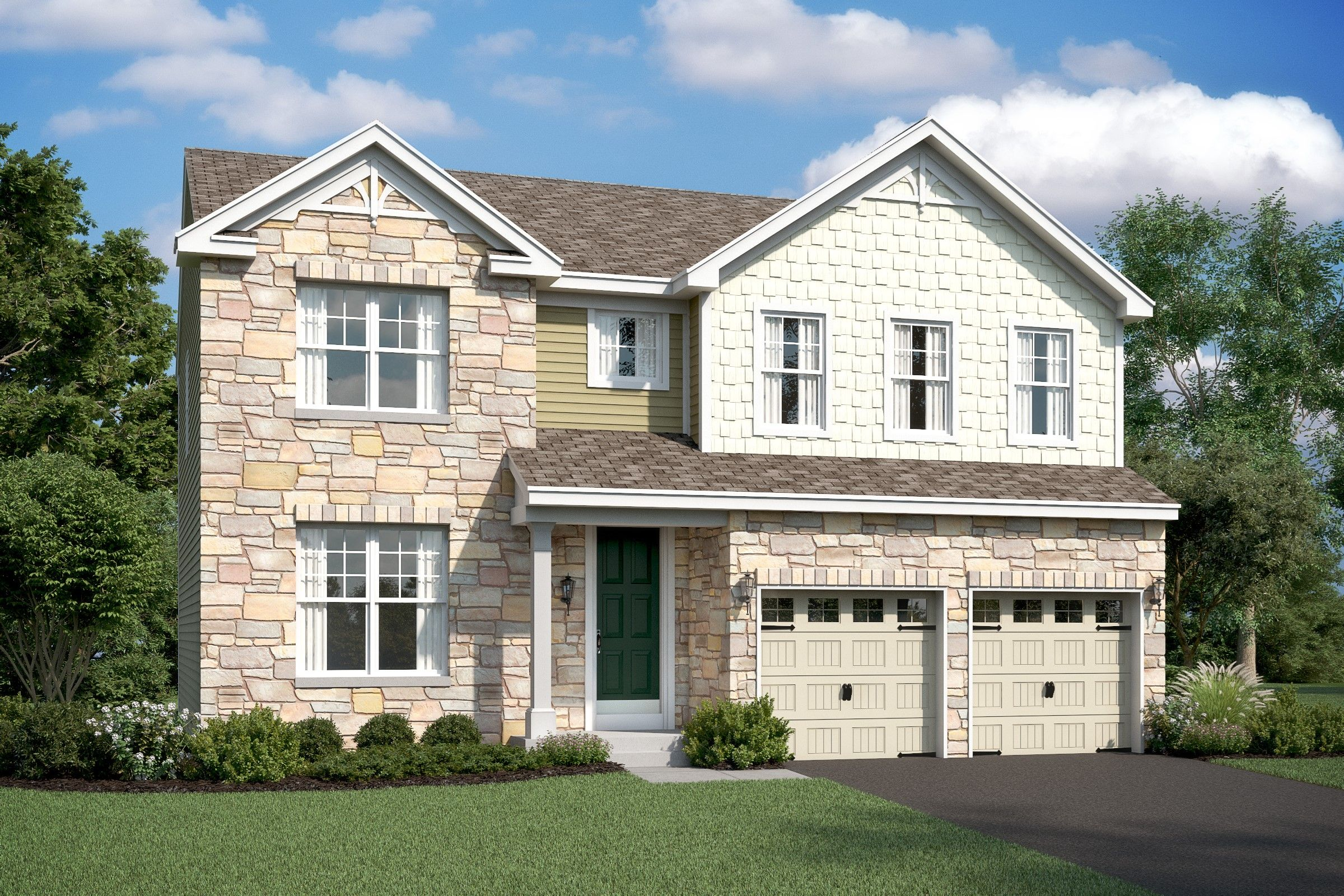 Single Family for Active at Eden Terrace - Hanover 110 Forest Avenue Catonsville, Maryland 21228 United States