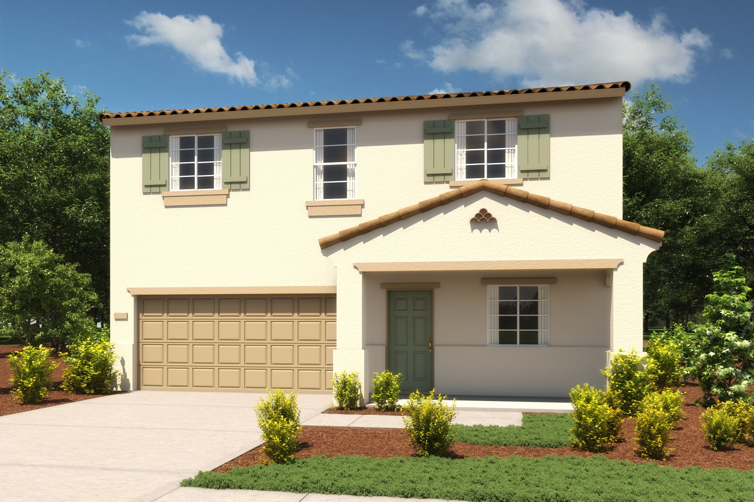 Single Family for Active at Aspire At Village Center - Primrose Emerald Park Lane And Village Plaza Drive Roseville, California 95747 United States