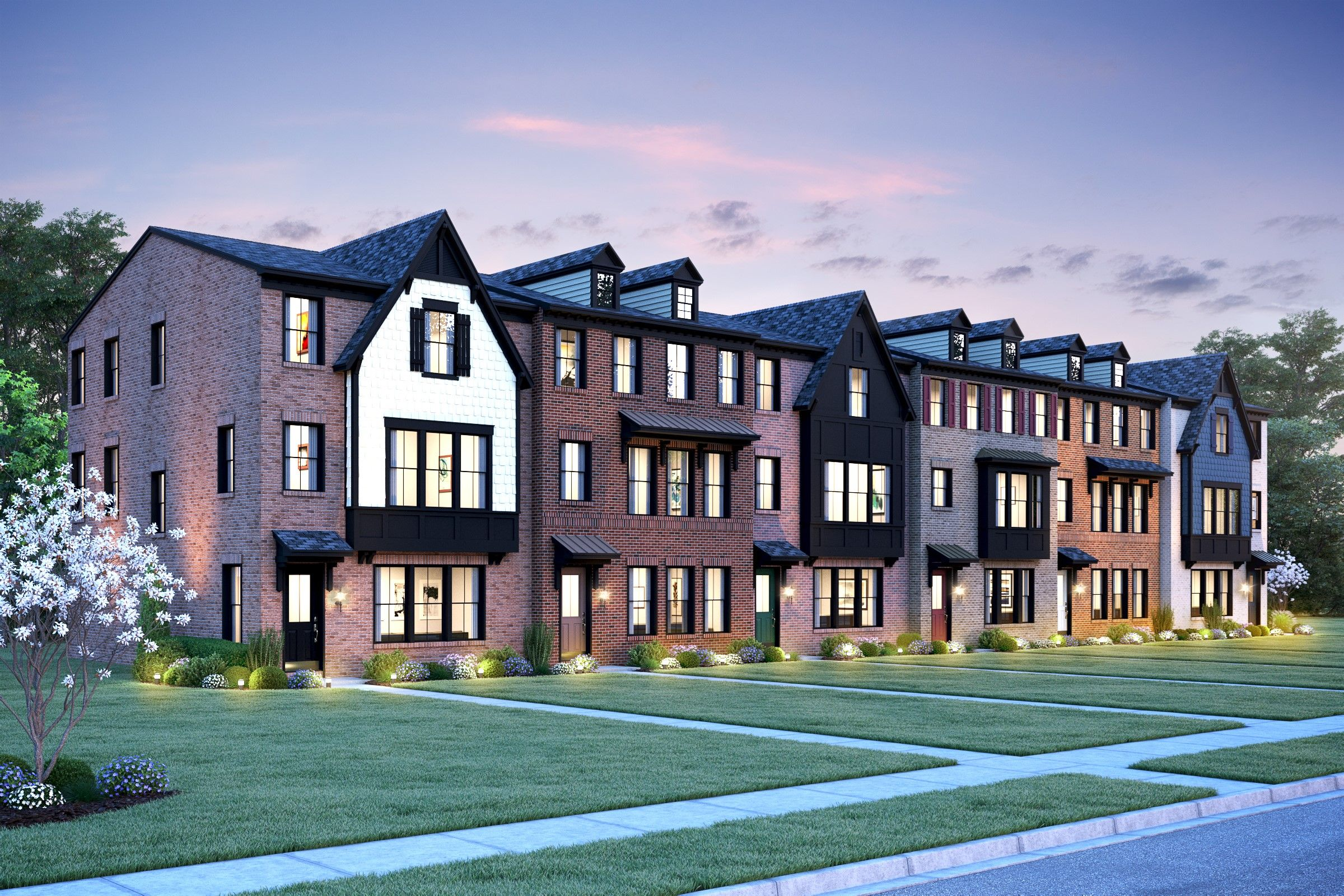 Multi Family for Active at Holbrook 4108 Elmwood Street Chantilly, Virginia 20151 United States