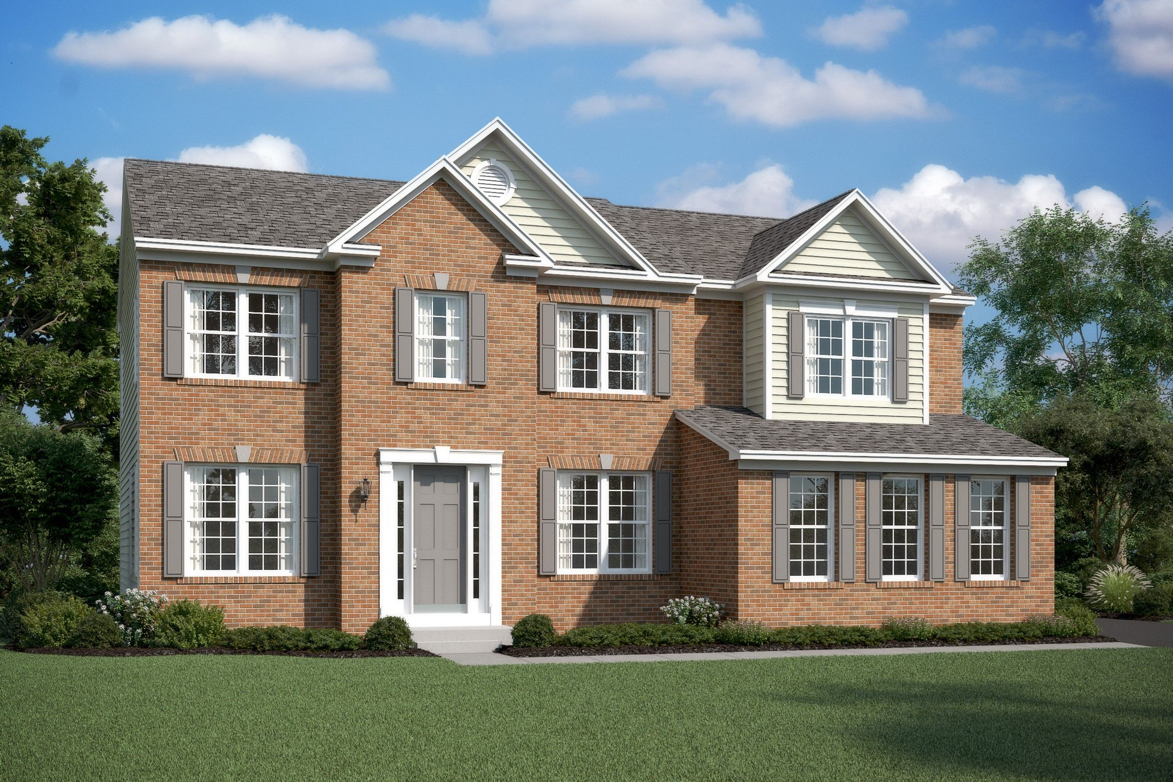 Single Family for Active at Alexander Lakes - Delaware Ii 14342 Trotters Ridge Place Nokesville, Virginia 20181 United States
