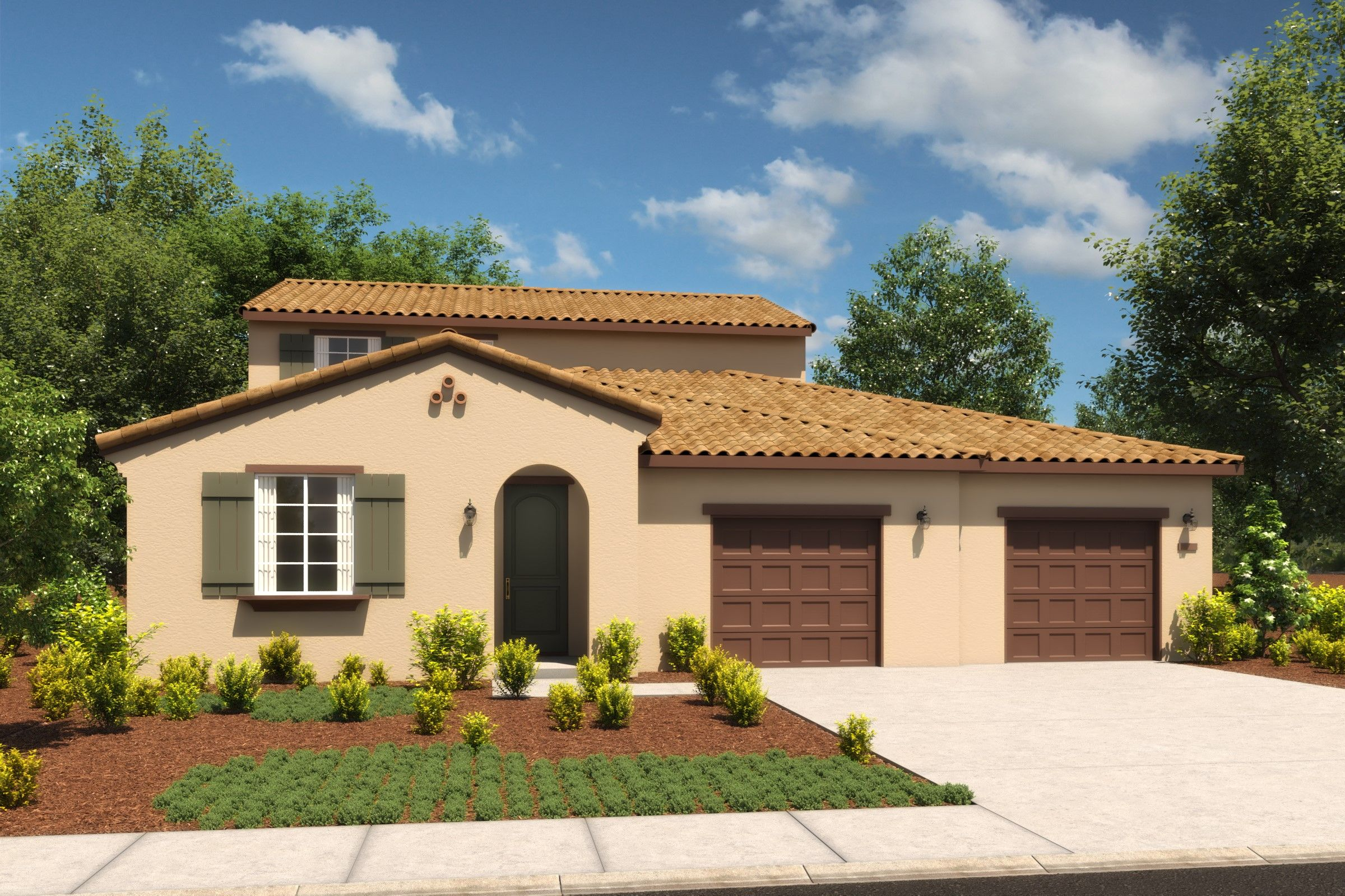 Single Family for Active at Riverview At Monterra - Rose 4588 Goode Street Antioch, California 94531 United States