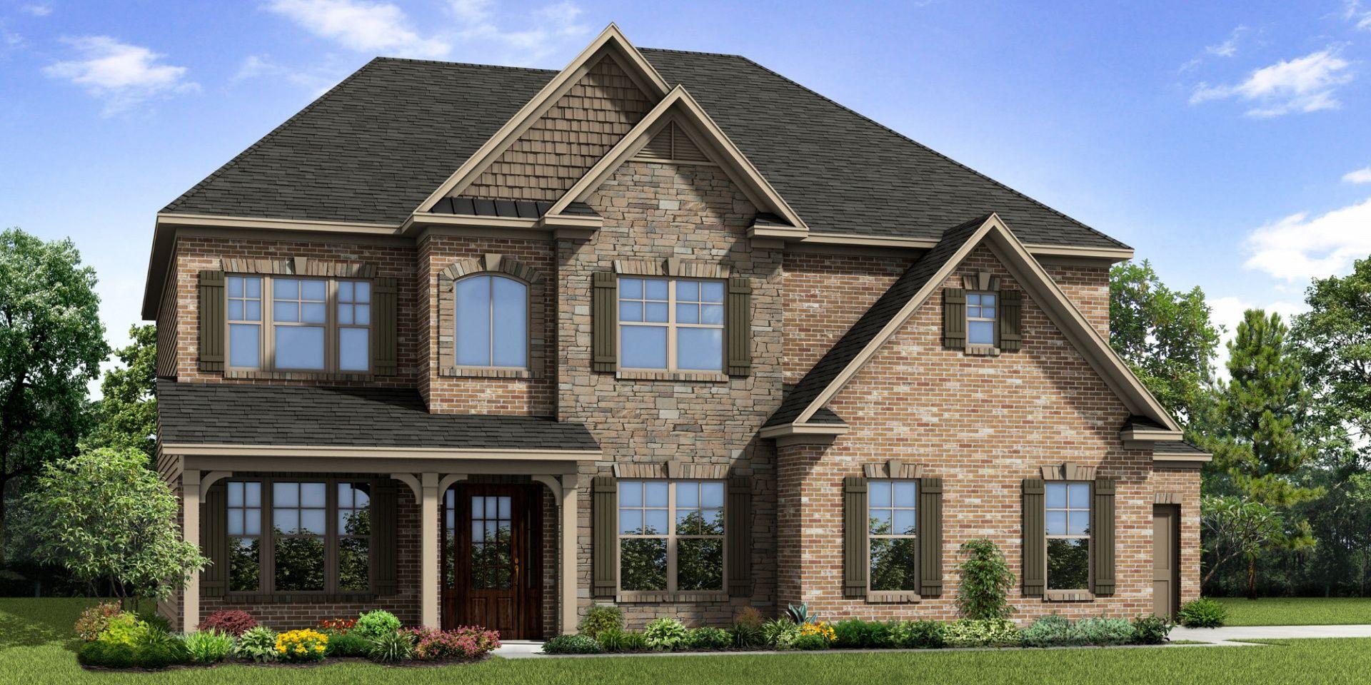 Ensam Familj för Försäljning vid Madison 579 Warrenton Run Drive Sugarhill, Georgia 30518 United States