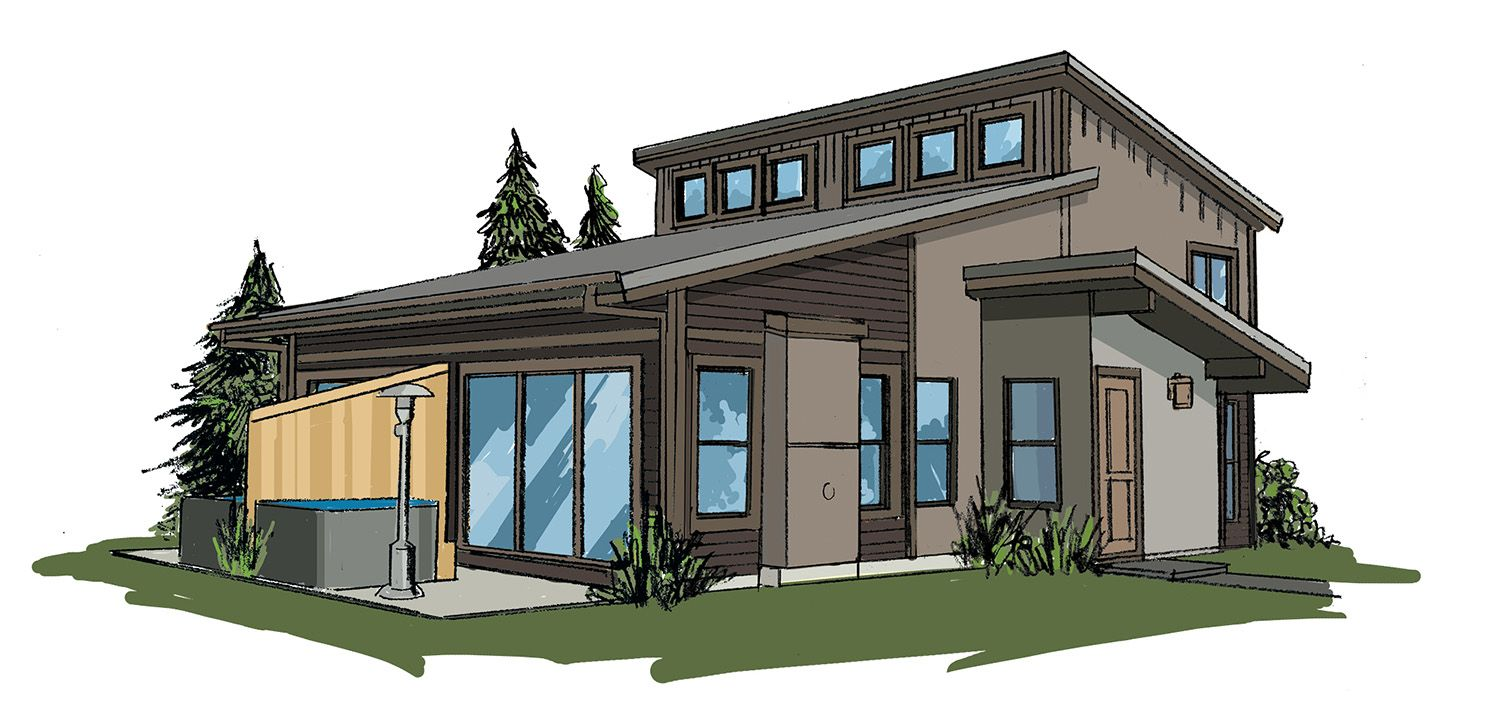 Single Family for Sale at Rendezvous Colorado - Buckhorn Paired Cabin - Plan A 77795 Us Highway 40 Winter Park, Colorado 80482 United States