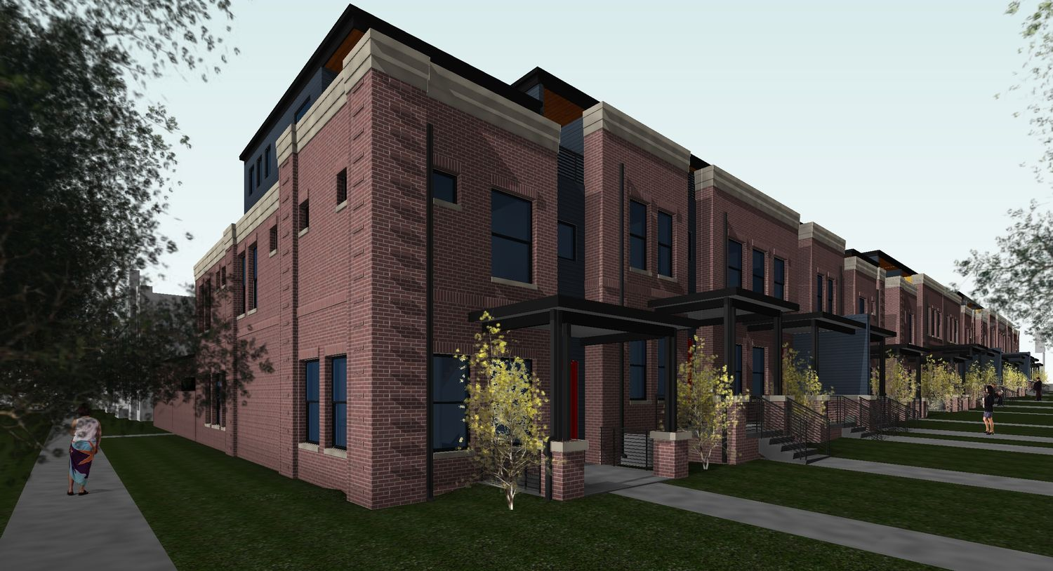 Single Family for Active at Vine - Plan C 1396 Vine Street Denver, Colorado 80206 United States