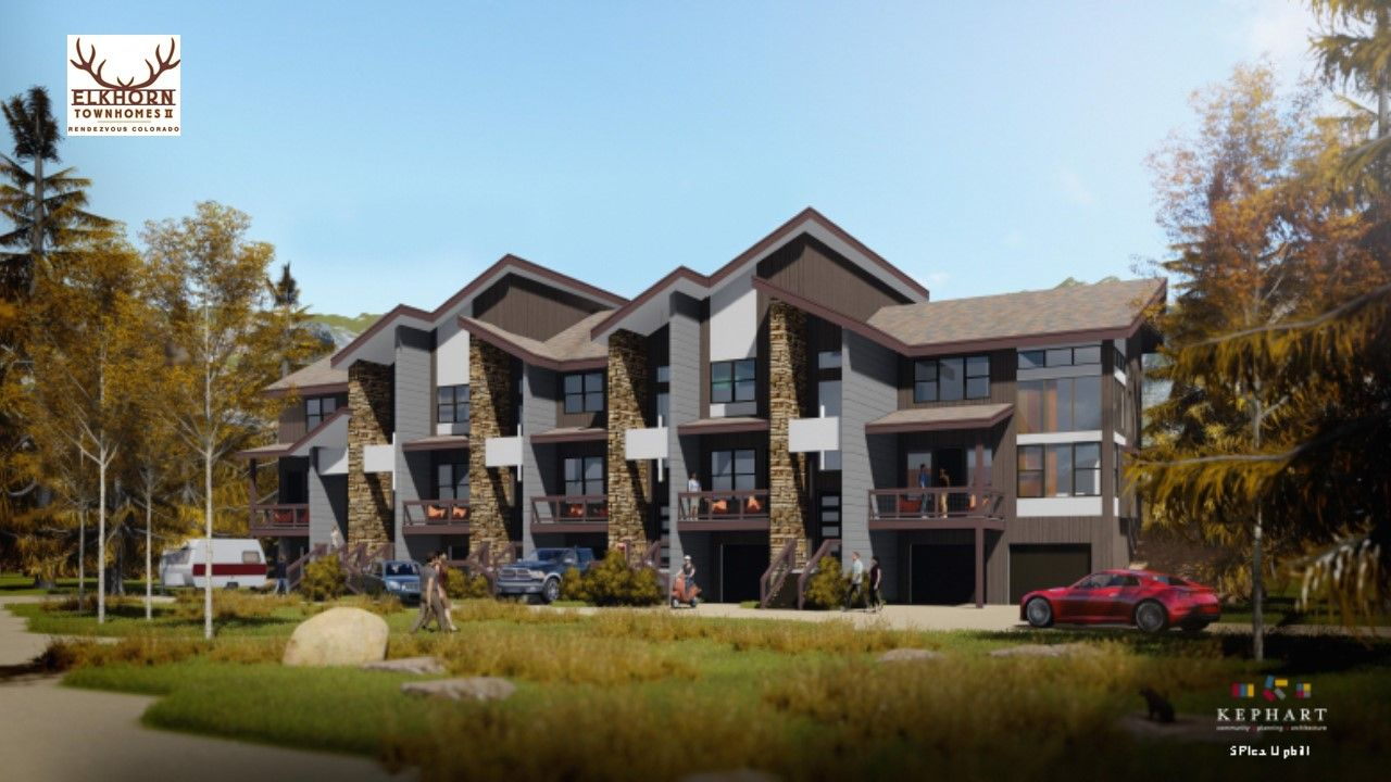 Multi Family for Active at Elkhorn Townhome - Uphill B - End Unit 150 Stagecoach Way Fraser, Colorado 80442 United States