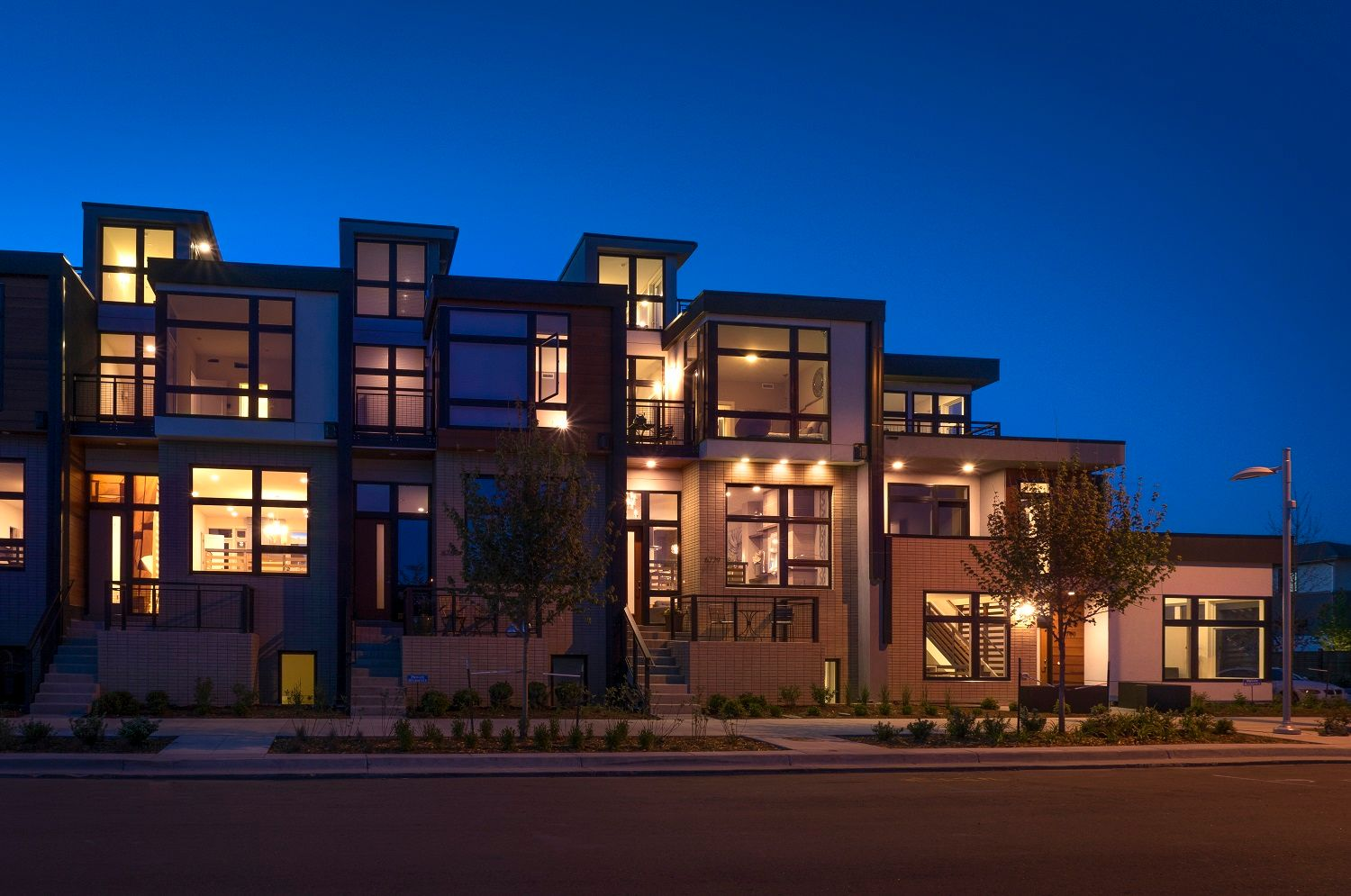 Single Family for Active at Cityhomes At Boulevard One - Matador Series - Main-Floor Master End Unit 6779 East Lowry Boulevard Denver, Colorado 80230 United States