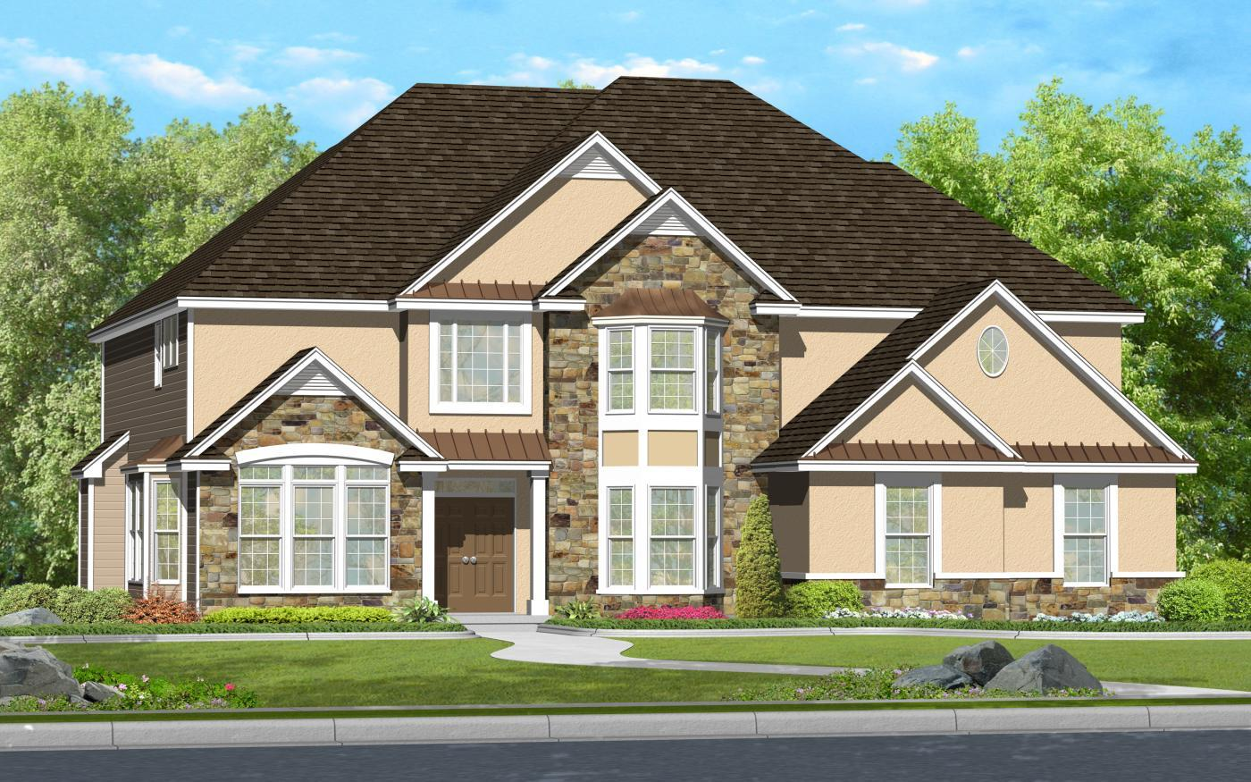 Single Family for Sale at Scenic View - Clayton (Single) 330 Clearview Avenue Nazareth, Pennsylvania 18064 United States