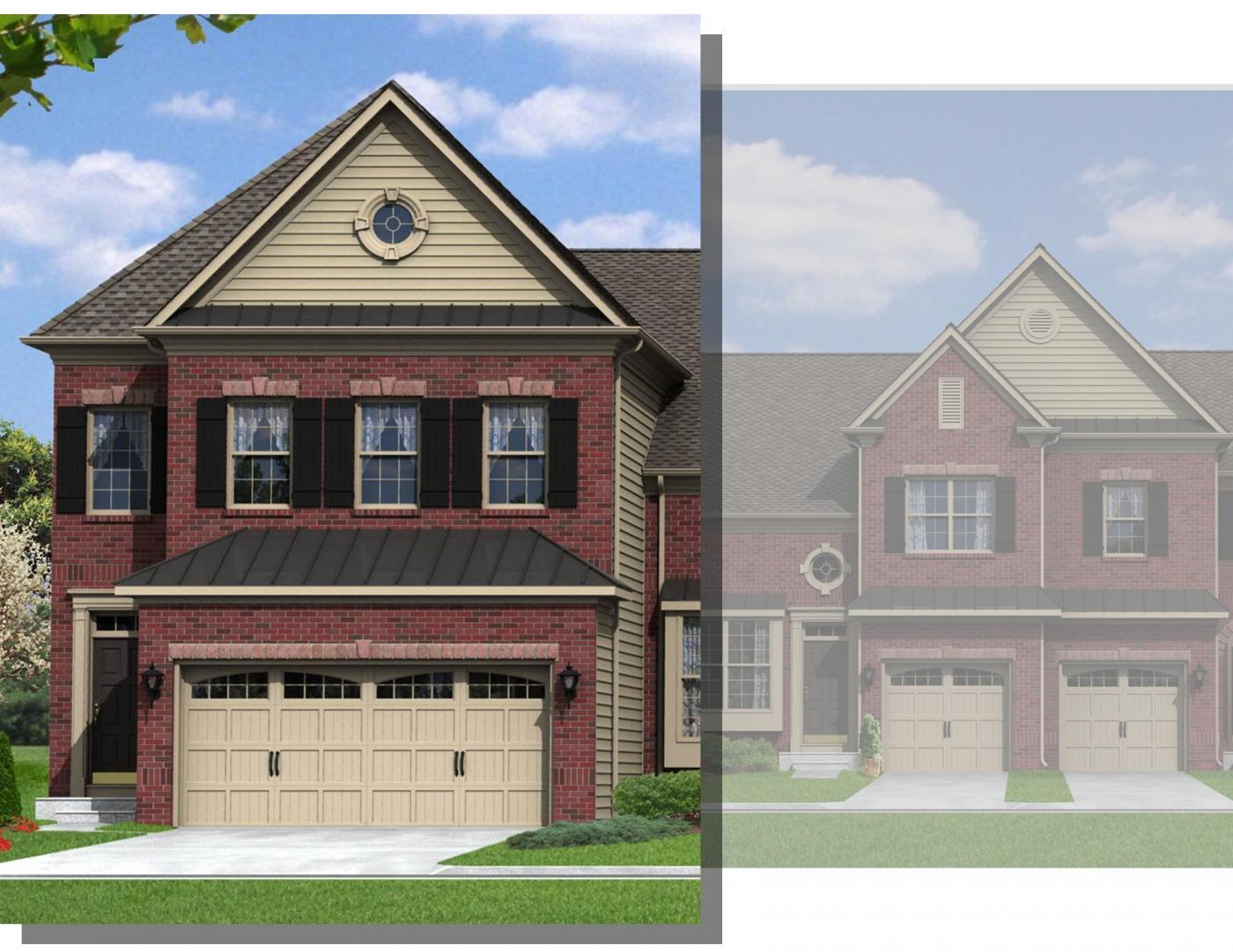 kay builders the fields at blue barn meadows montgomery townhome 1356891 allentown pa