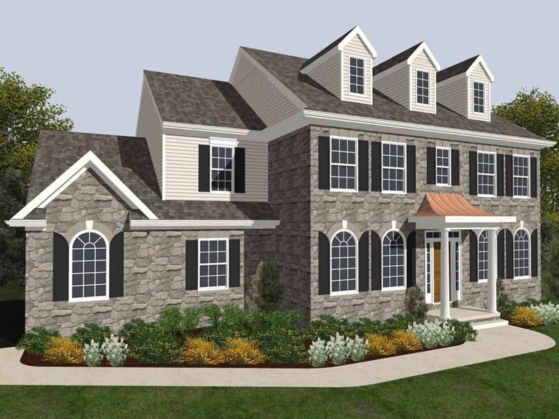 Single Family for Active at The Preserve At Marriotts Ridge - Oxford Traditional Woodstock Road & Browns Farm Road Woodstock, Maryland 21163 United States
