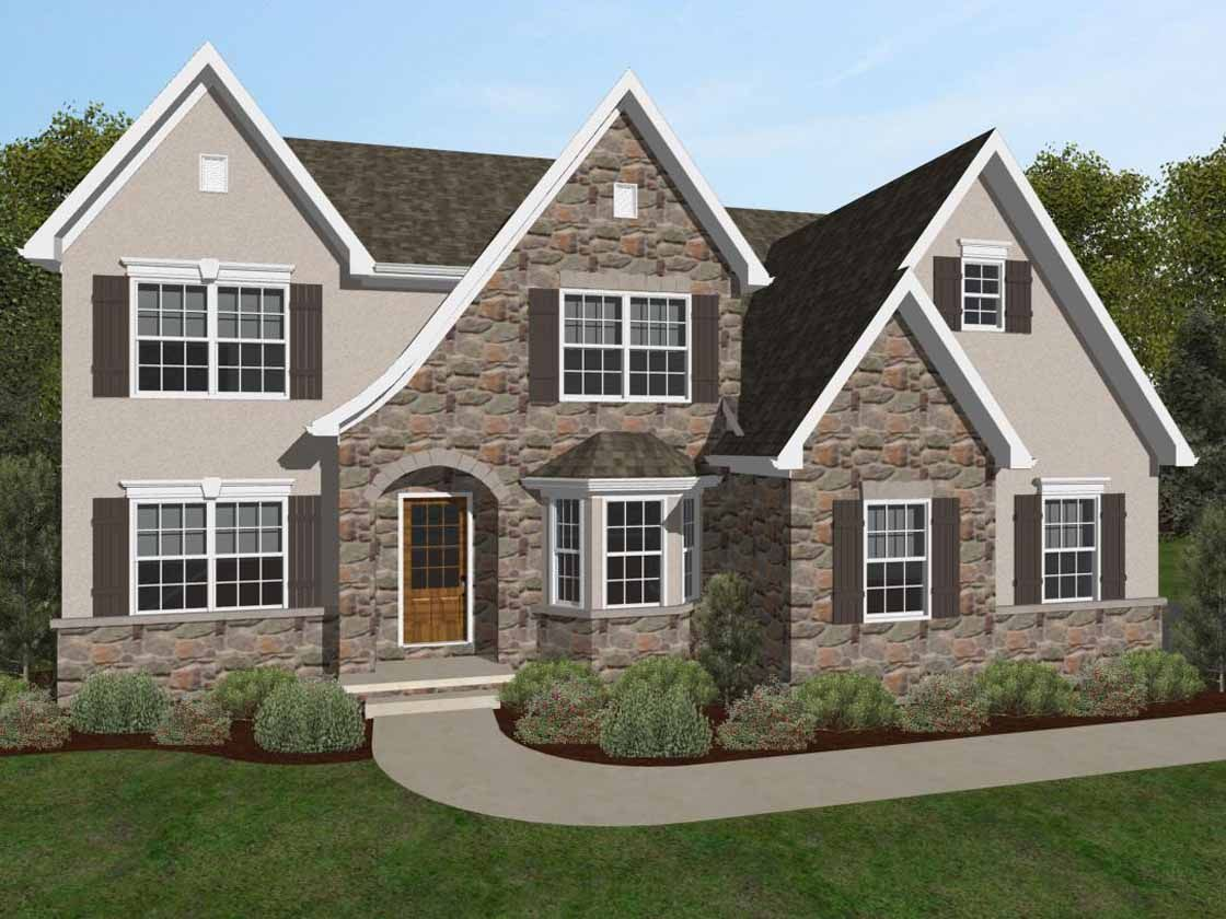 Single Family for Active at Forest Knoll - Ethan English Cottage Rock Springs Rd &Amp; N Forest Dr Forest Hill, Maryland 21050 United States