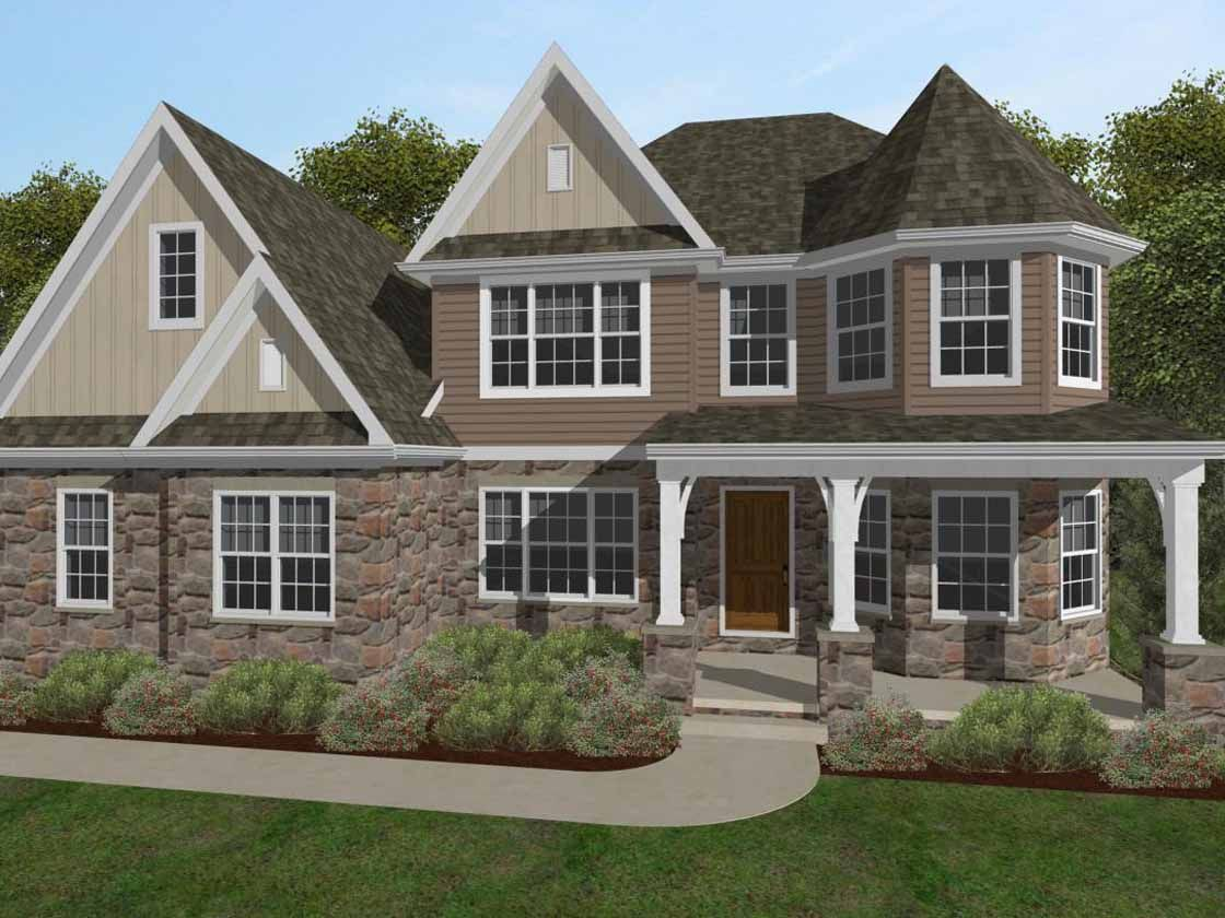 Single Family for Sale at Sweetbriar Creek - Nottingham Manor 6194 Bayberry Avenue Manheim, Pennsylvania 17545 United States