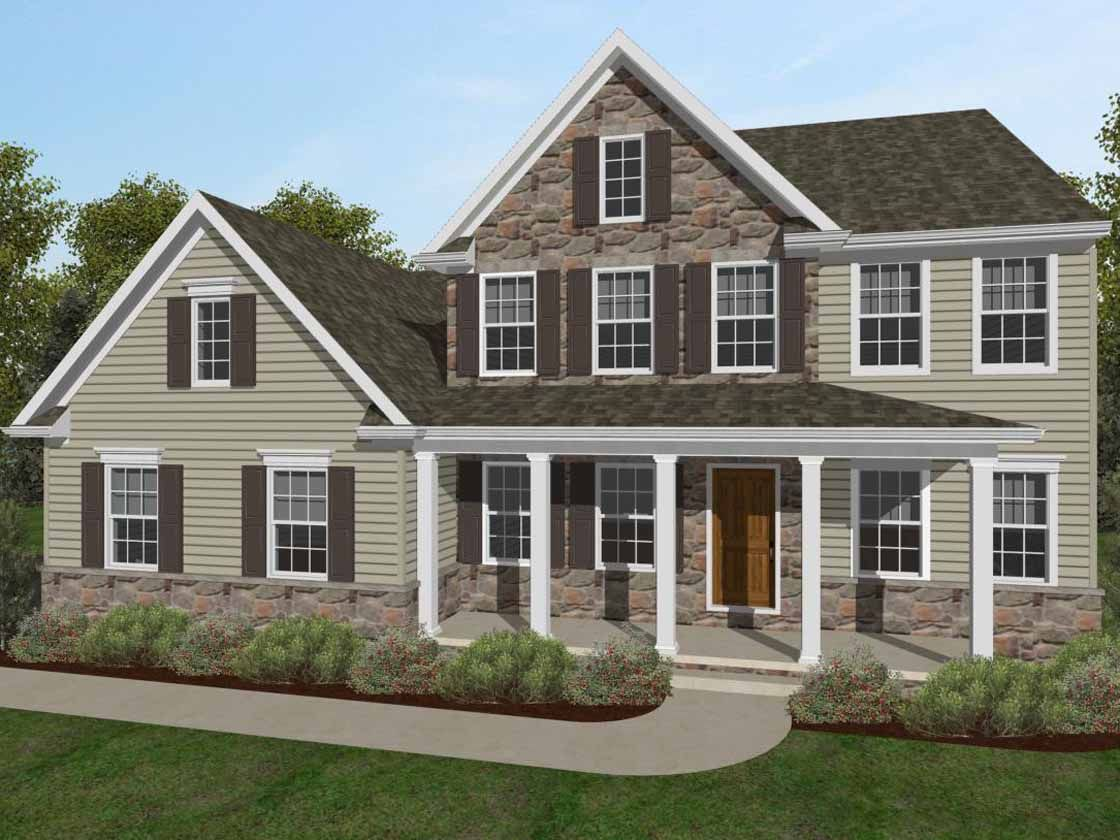Single Family for Sale at Whitehaven Preserve - Nottingham Traditional 295 E Tolna Rd Shrewsbury, Pennsylvania 17361 United States