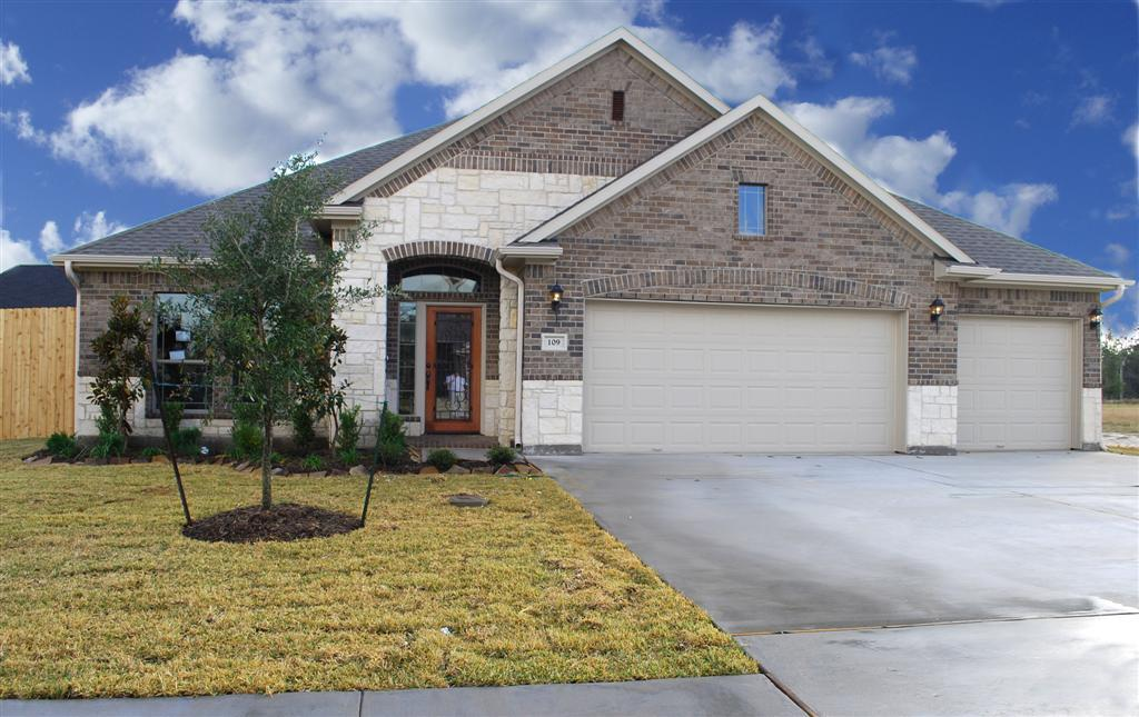 Kinsmen homes diamond d ranch the emma 1072775 beaumont for Home builders southeast texas