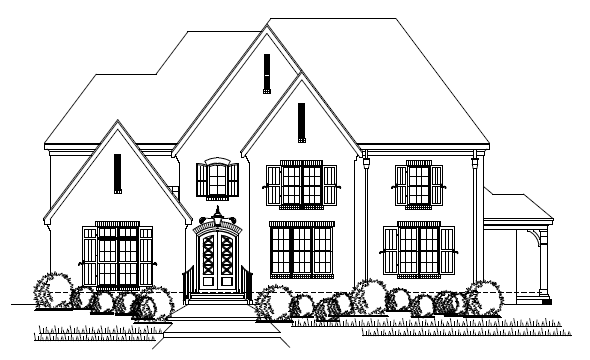 Single Family for Active at The Tuckahoe Plan 151 Cole Rd Memphis, Tennessee 38117 United States