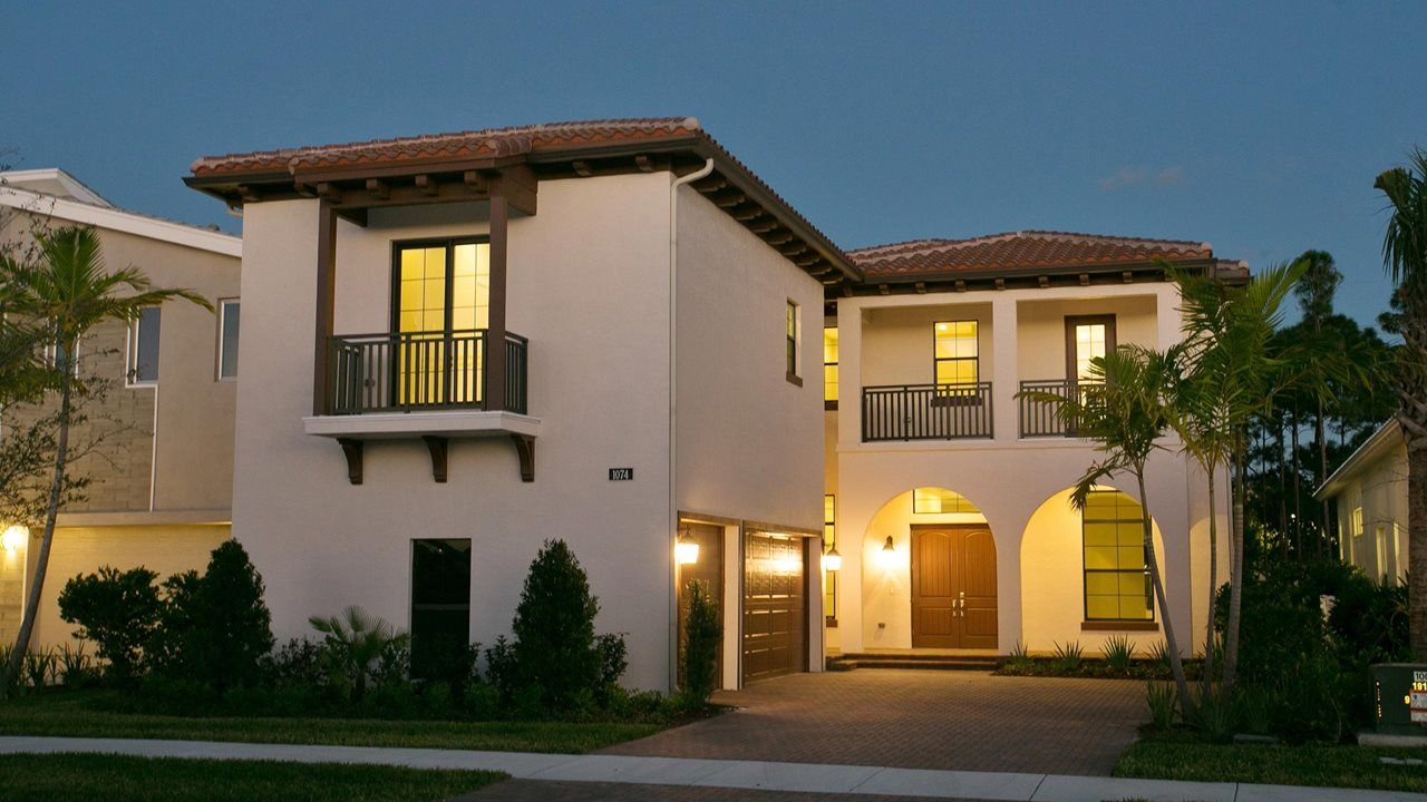 Single Family For Sale At Edge B 1074 Faulkner Terrace Palm Beach Gardens,  Florida 33418