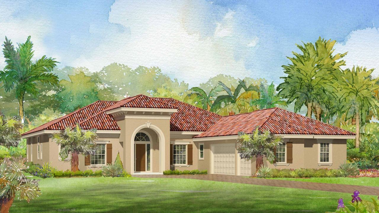 Single Family for Active at Canopy Creek - Birch 5412 Sw Blue Daze Way Palm City, Florida 34990 United States