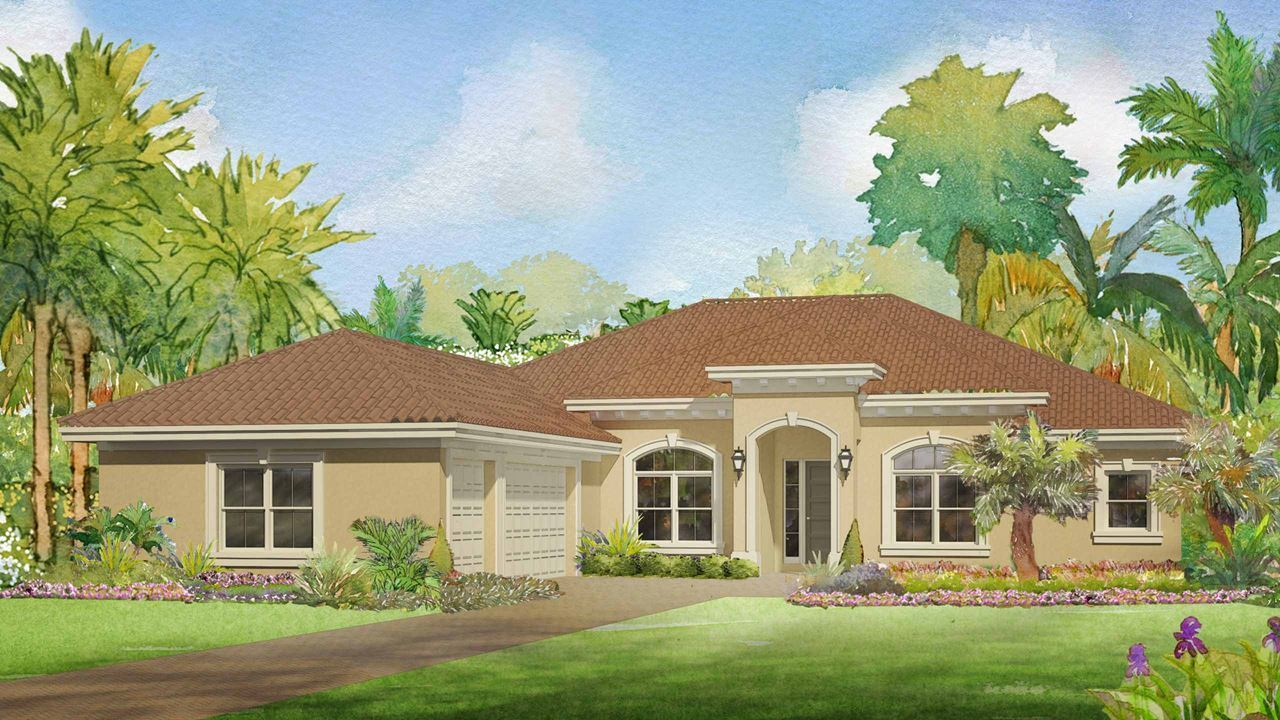 5541 Sw Peach Palm Place Palm City Fl New Home For