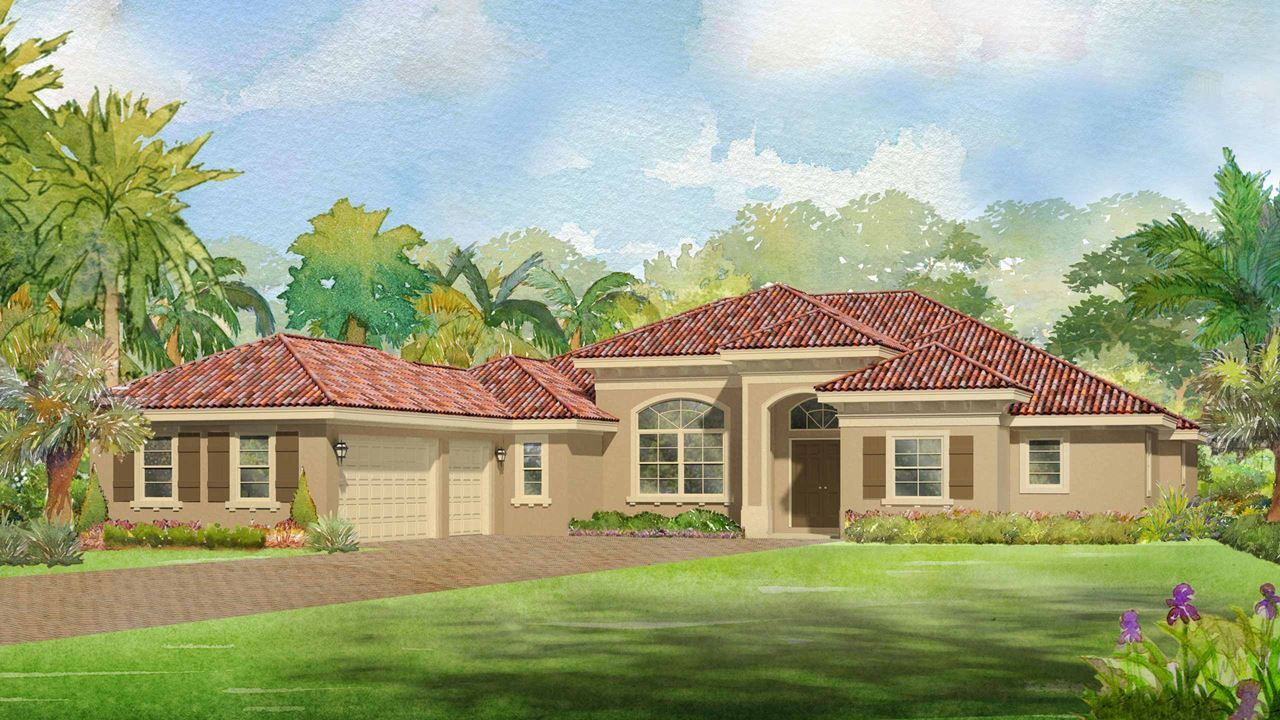 Single Family for Active at Canopy Creek - Dahlia 5412 Sw Blue Daze Way Palm City, Florida 34990 United States