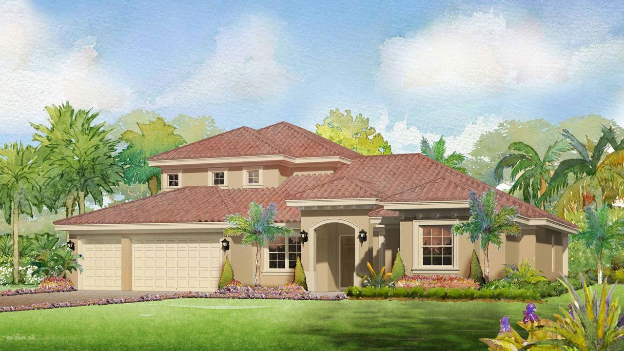 Single Family for Active at Canopy Creek - Elisa 5412 Sw Blue Daze Way Palm City, Florida 34990 United States
