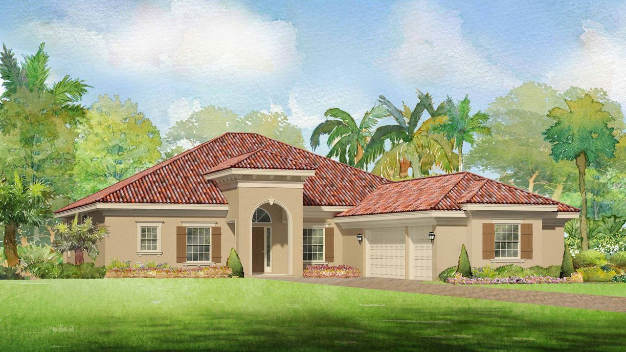 Single Family for Active at Canopy Creek - Oak 5412 Sw Blue Daze Way Palm City, Florida 34990 United States