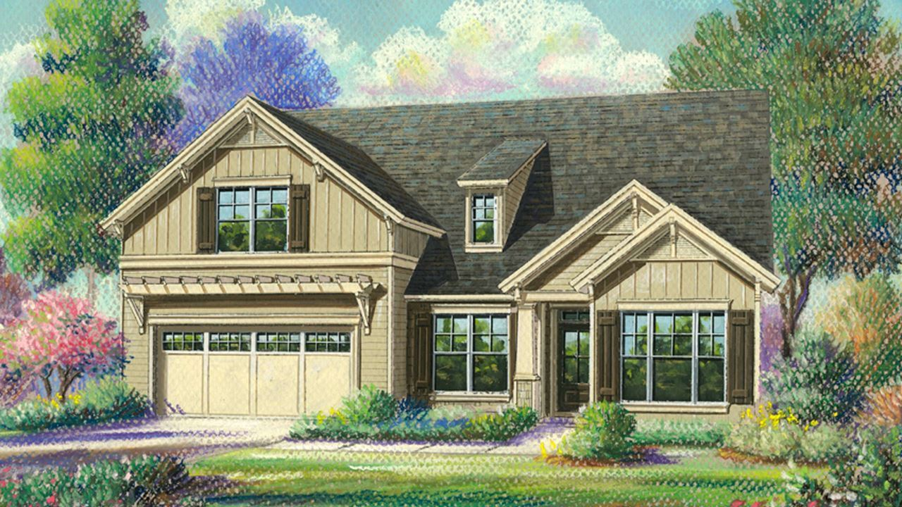 Single Family for Active at Cresswind At Lake Lanier - Oakside 3024 Scarlet Oak Lane Gainesville, Georgia 30504 United States