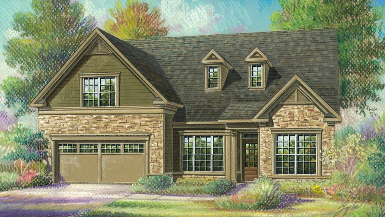 Single Family for Active at Cresswind At Lake Lanier - Redwood 3024 Scarlet Oak Lane Gainesville, Georgia 30504 United States