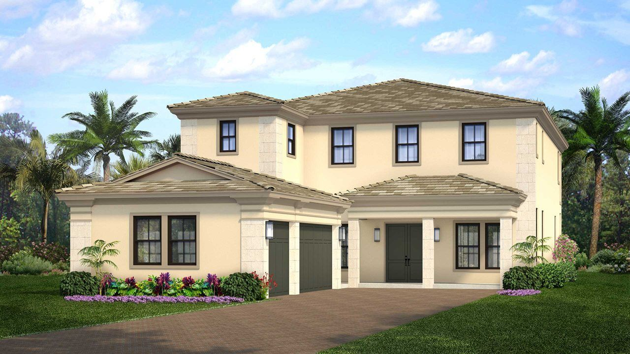 Single Family for Active at Artistry Palm Beach - Residence 3 5513 Renoir Place Palm Beach Gardens, Florida 33418 United States