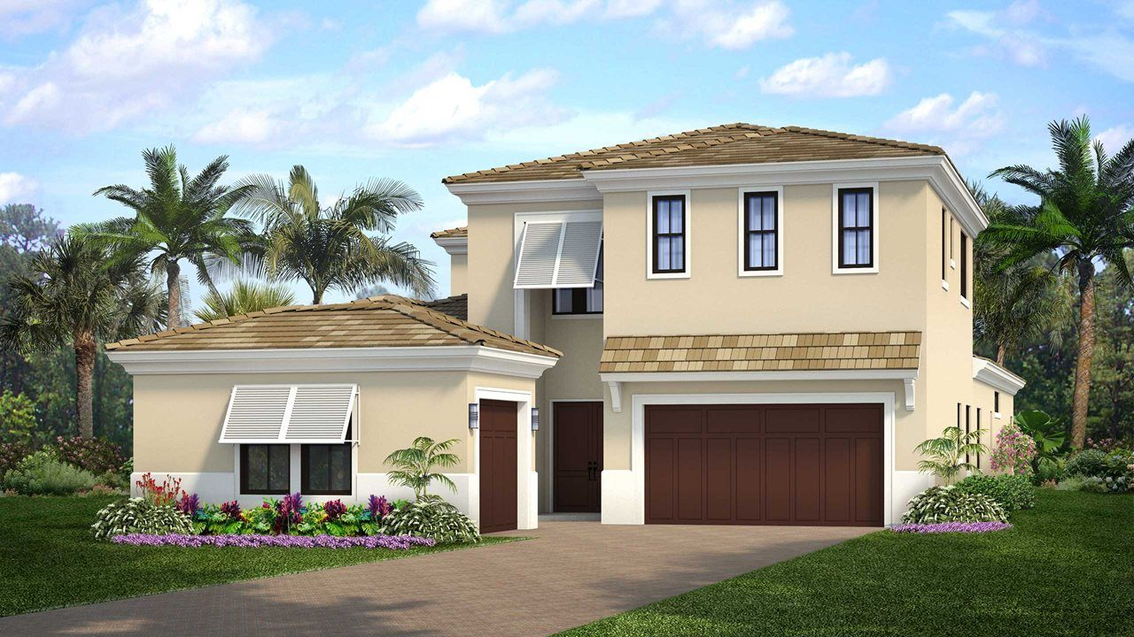 Single Family for Active at Artistry Palm Beach - Residence 4 5513 Renoir Place Palm Beach Gardens, Florida 33418 United States