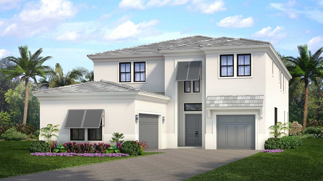 Single Family for Active at Artistry Palm Beach - West 5513 Renoir Place Palm Beach Gardens, Florida 33418 United States