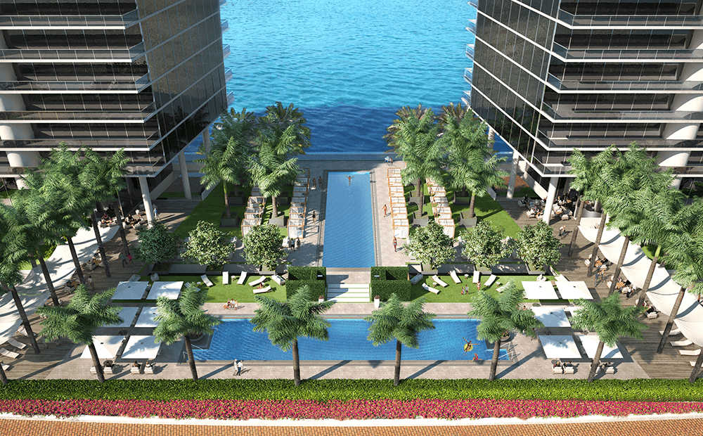 Additional photo for property listing at Prive Island - Residence A 21500 Biscayne Boulevard Miami, Florida 33180 United States