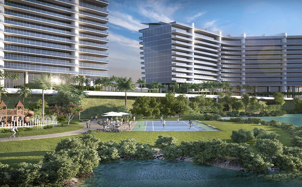 Single Family for Sale at Prive Island - Residence B3 21500 Biscayne Boulevard Miami, Florida 33180 United States