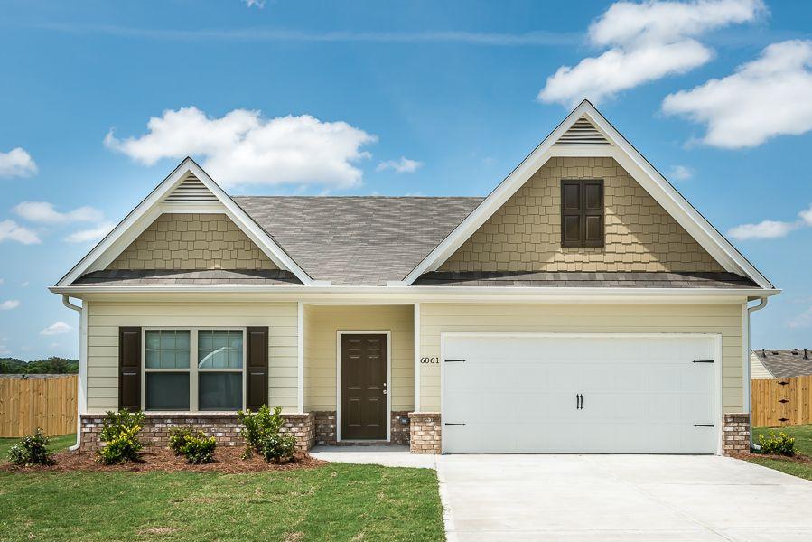 Lgi homes sutherland allatoona 1085043 winder ga new for Lgi homes