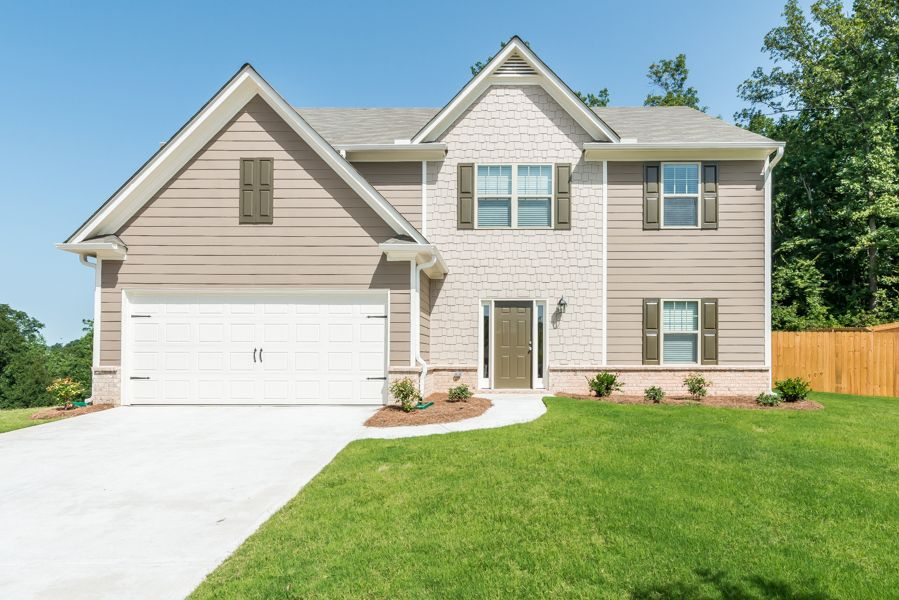Single Family for Sale at The Seasons At Pendergrass - Jackson Plan 420 Fall Court Pendergrass, Georgia 30567 United States