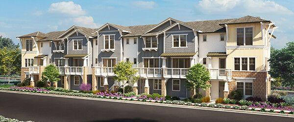 Multi Family for Active at The Vale - Echo - Plan 1 925 De Guigne Dr Sunnyvale, California 94085 United States