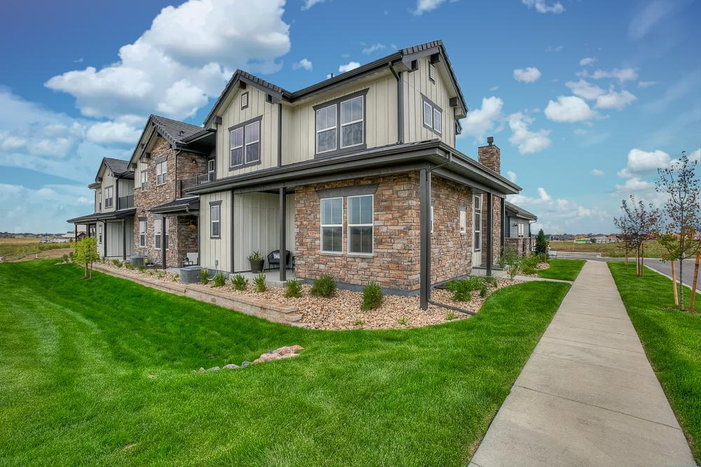 Multi Family for Active at Heron Lakes Townhomes At Tpc - Summerlin 1524 Harebell St. Berthoud, Colorado 80513 United States