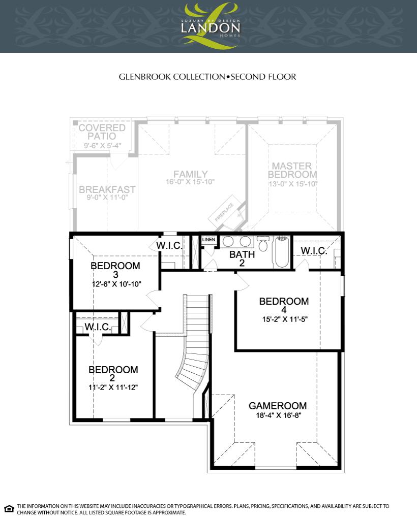 Landon homes glenbrook collection lexington country for Landon homes floor plans